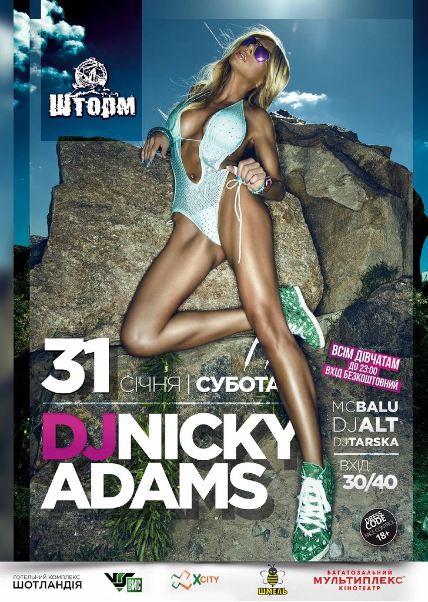 DJ Nicky Adams