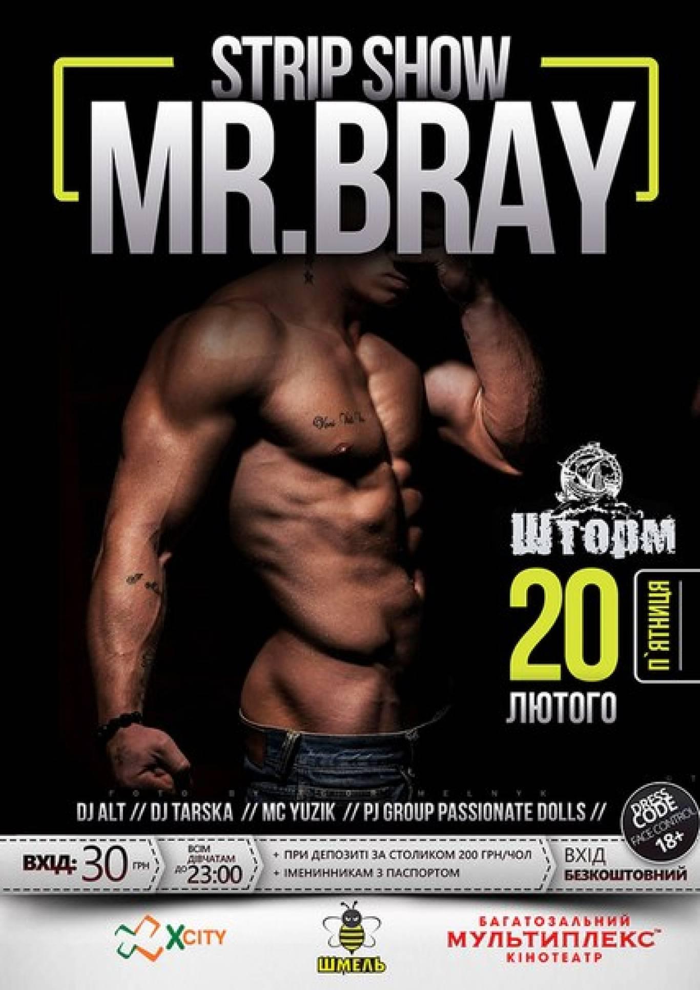 Strip show Mr. Bray