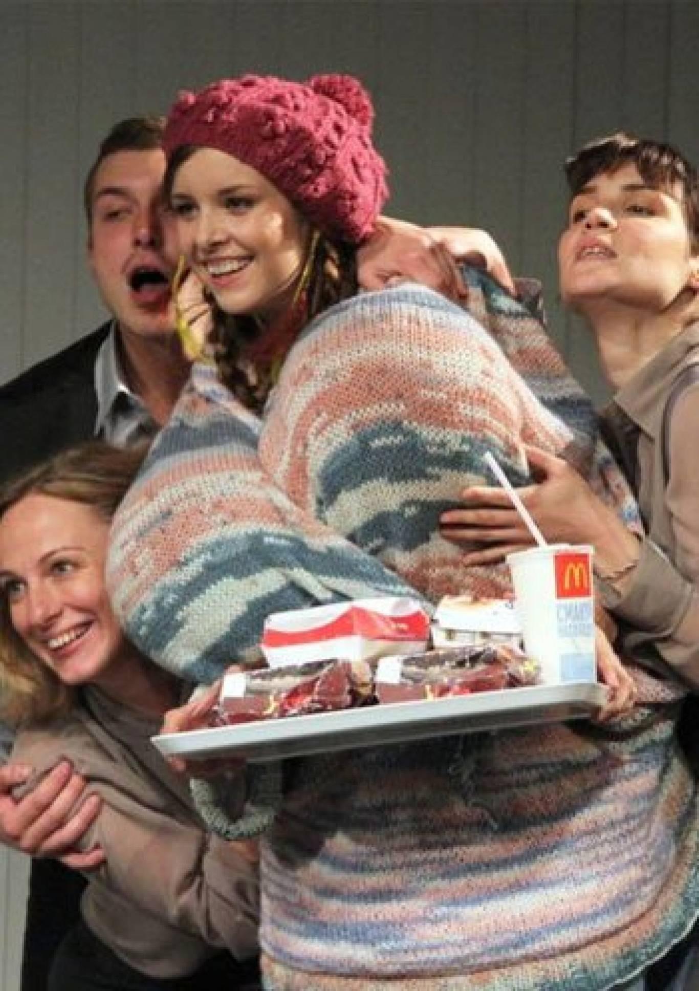 У Театрі російської драми імені Лесі Українки вистава «Жирна свиня»
