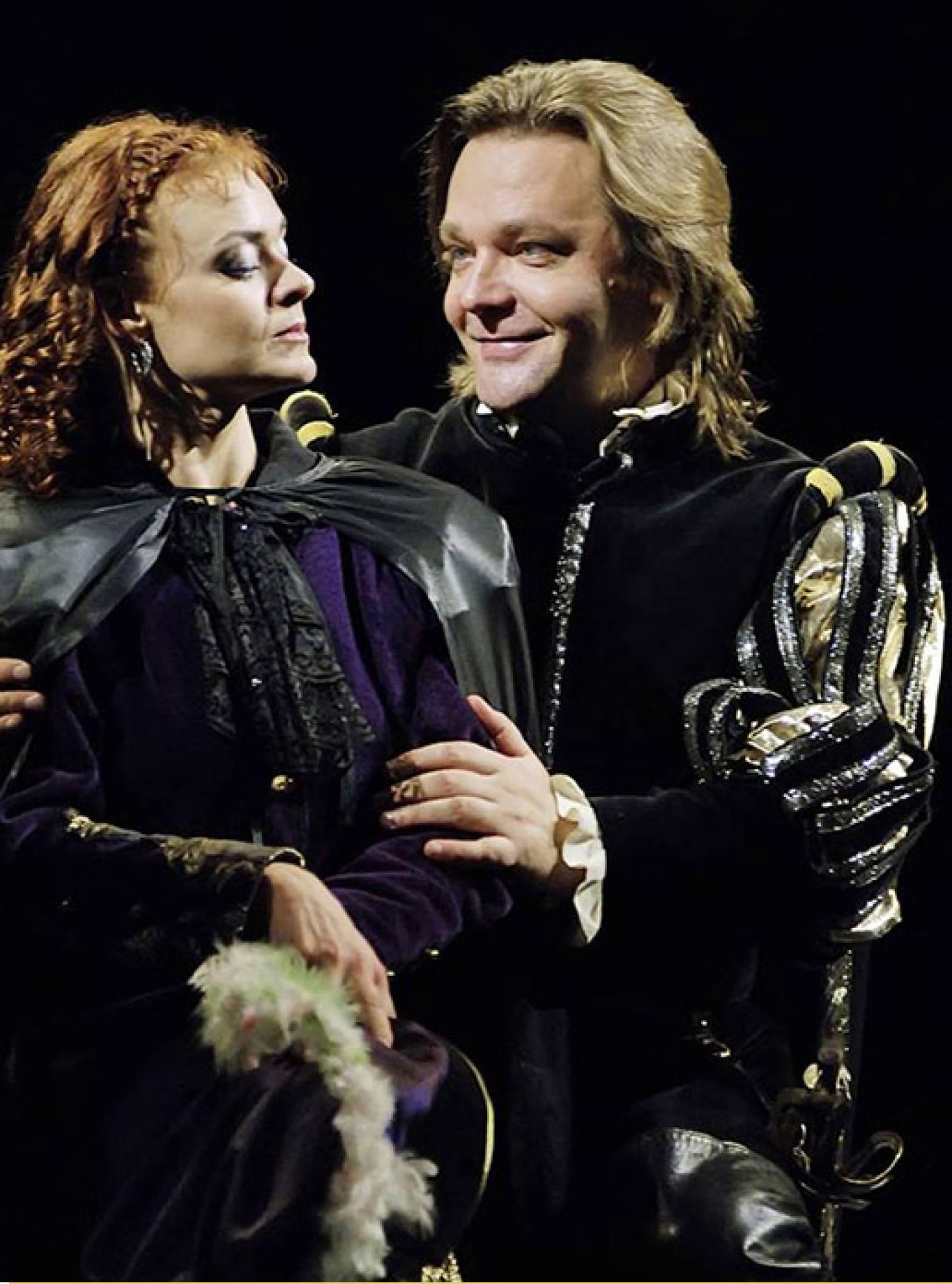Вистава «Приборкання норовливої» в драматичному театрі імені І.Франка