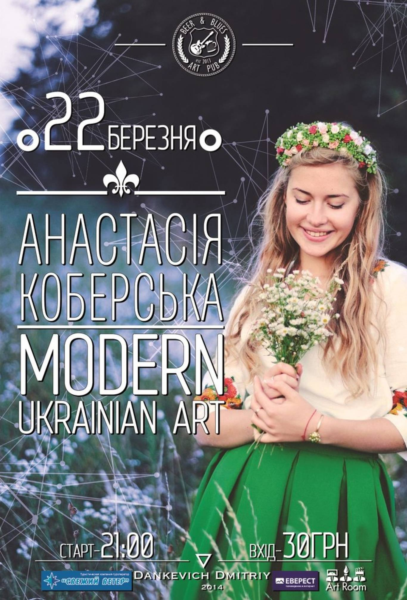 Modern Ukrainian Art від Анастасії Коберської