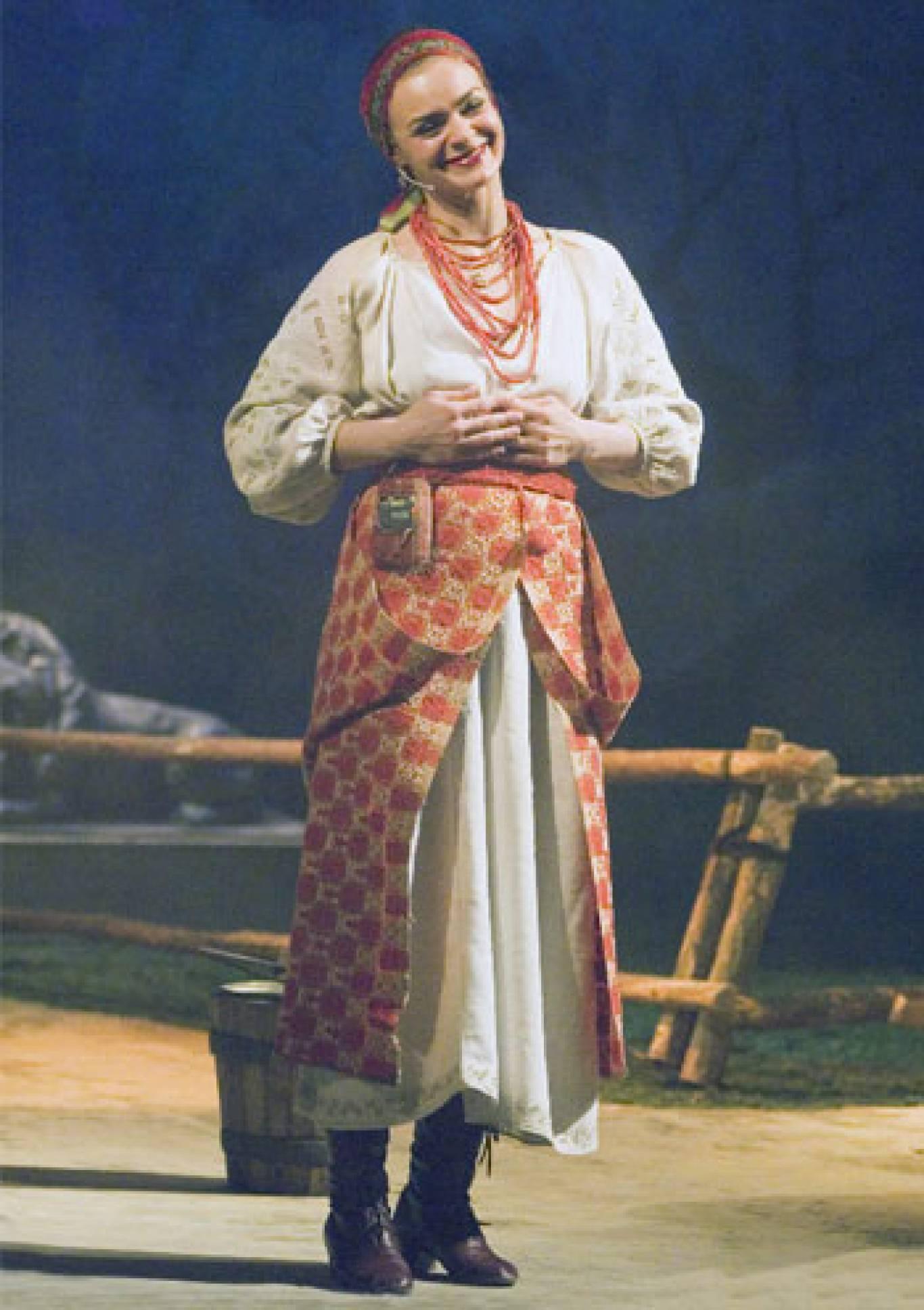 «Наталка Полтавка» у національному драматичному театрі імені І.Франка