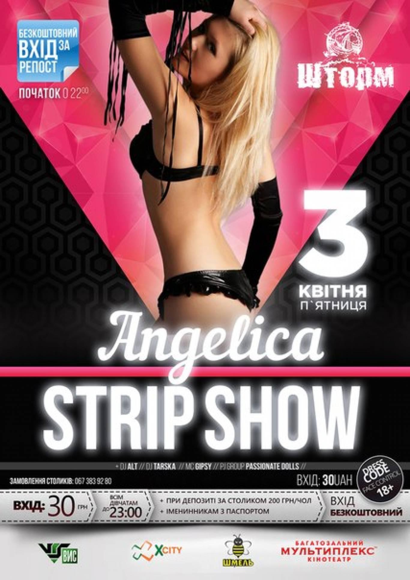Angelica. Strip Show