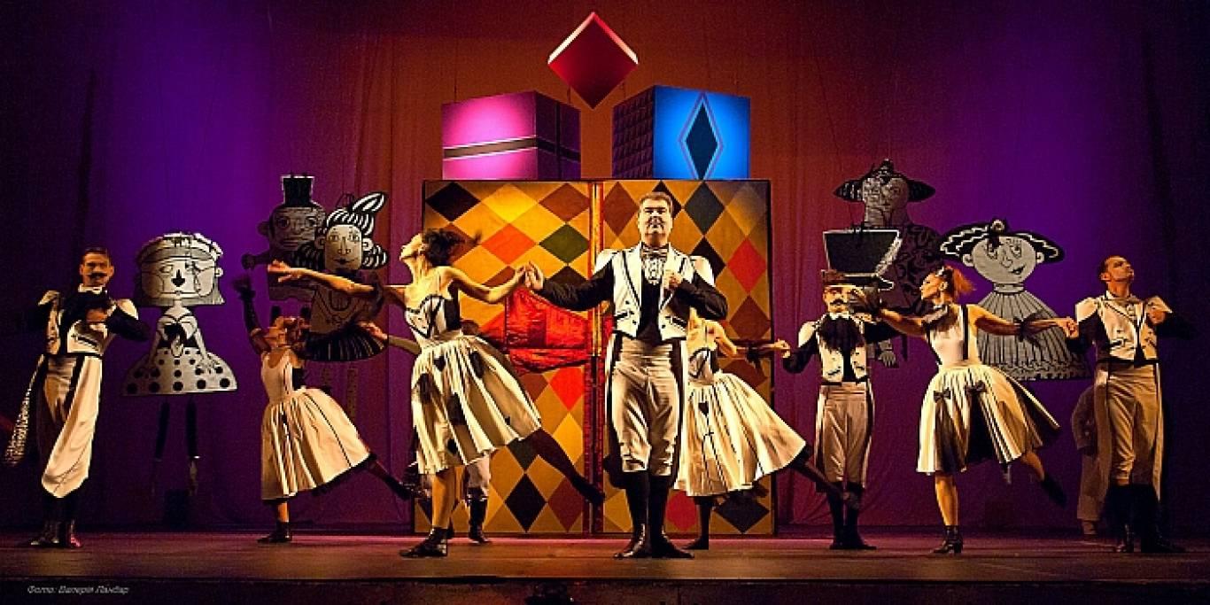 Вистава для дітей «Лускунчик» в драматичному театрі імені Івана Франка