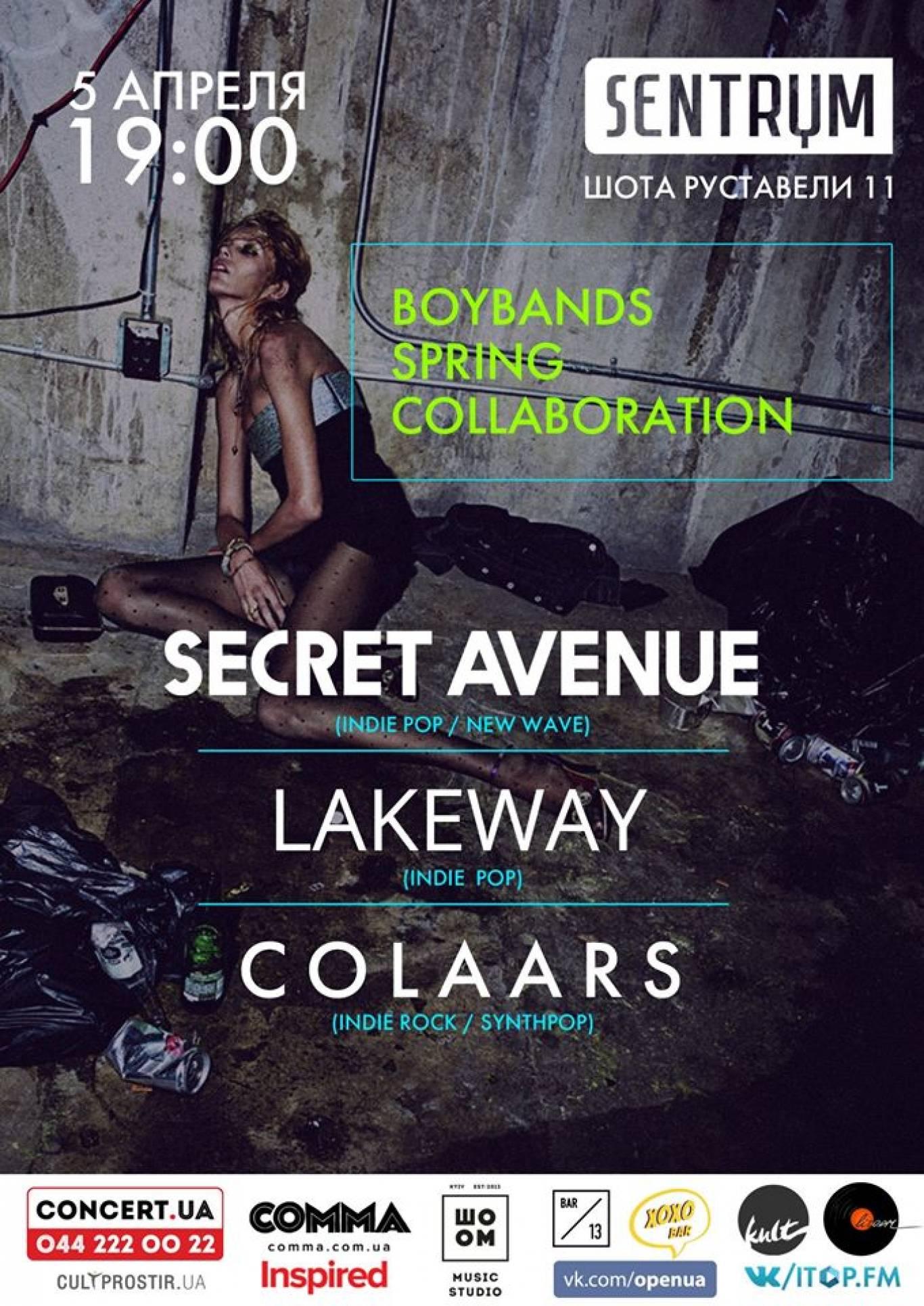 Концерт Boybands Spring Collaboration