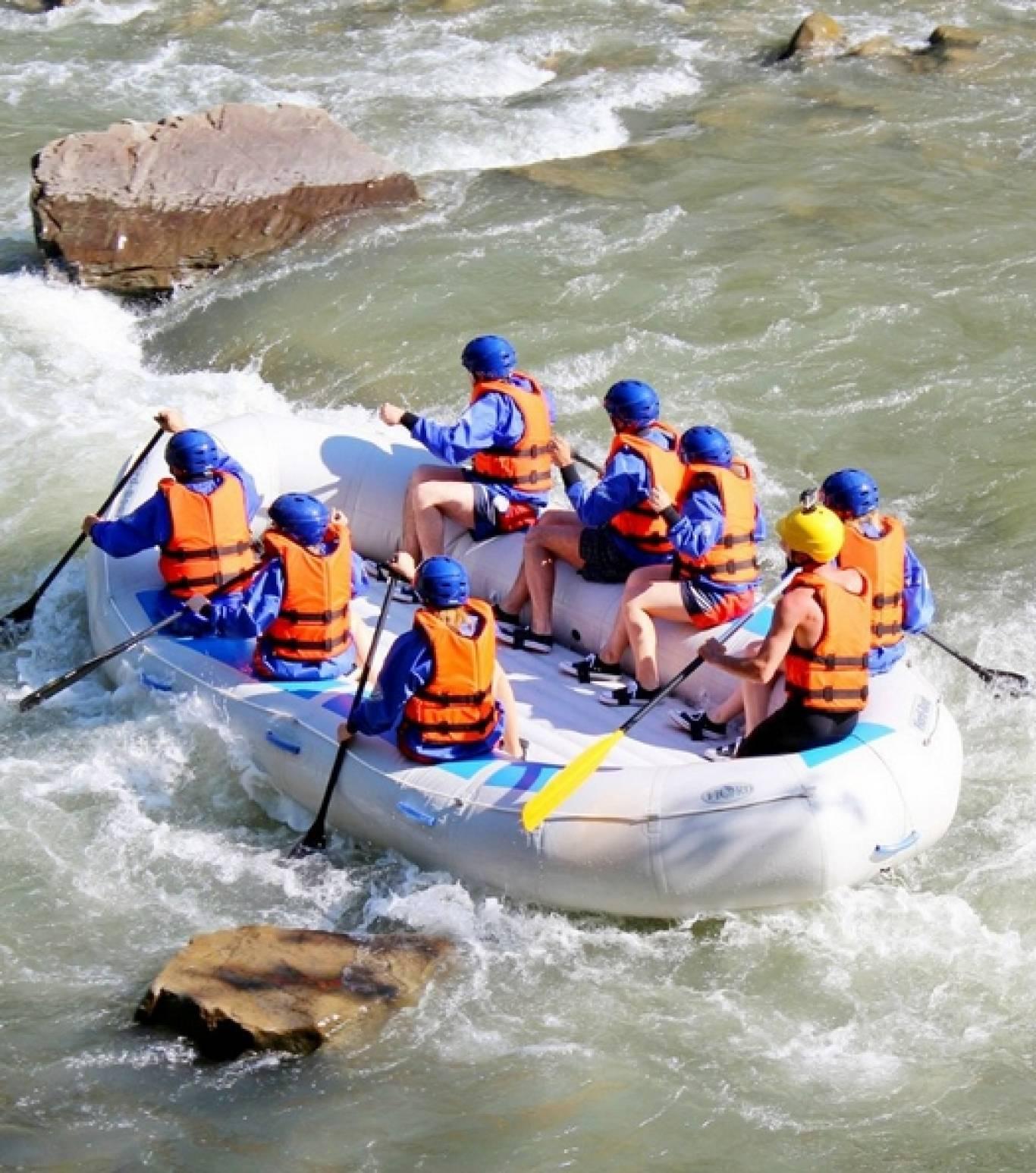 Рафтинг по річці Прут 25-26 квітня