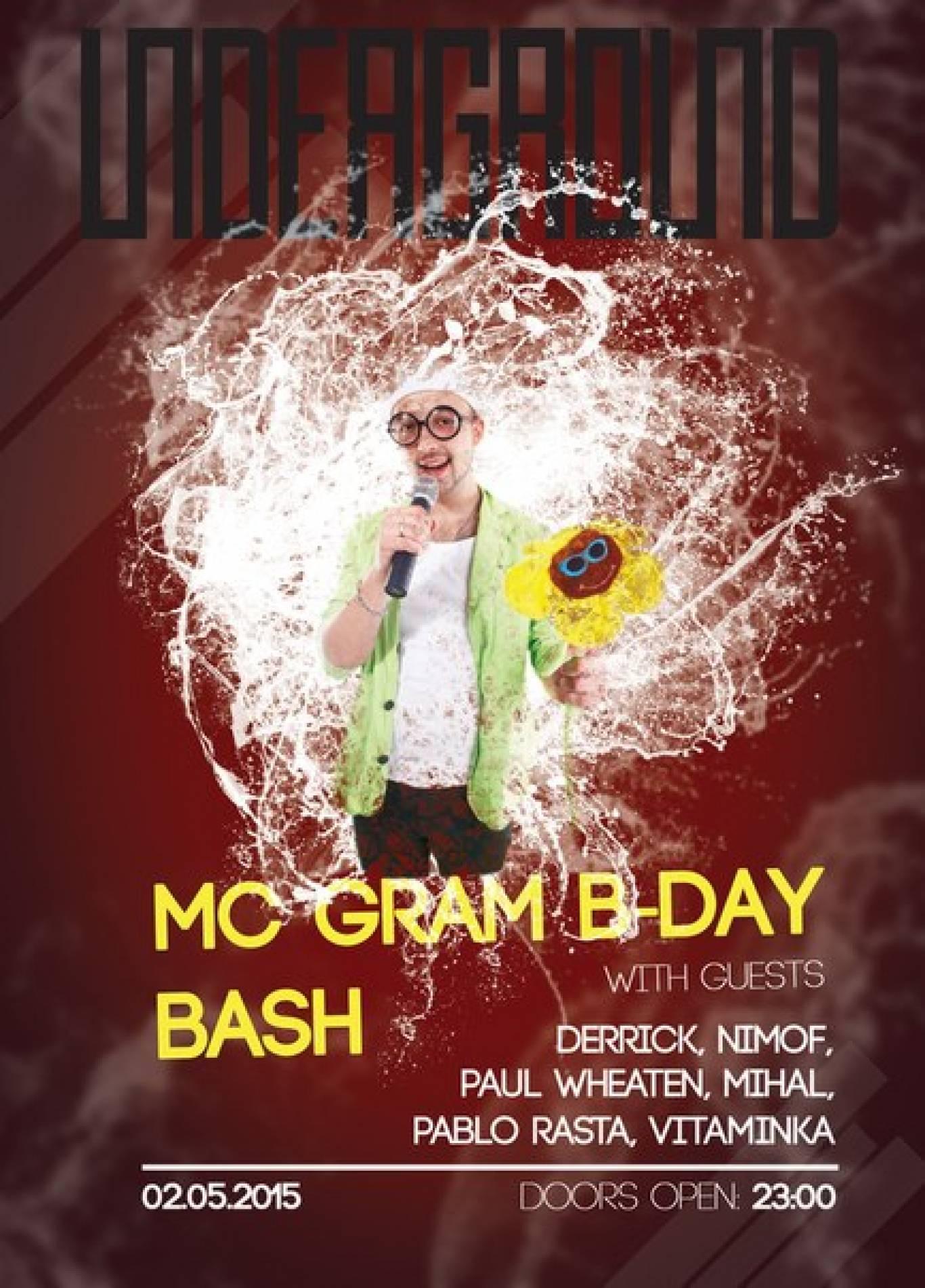 MC Gram B-Day Bash