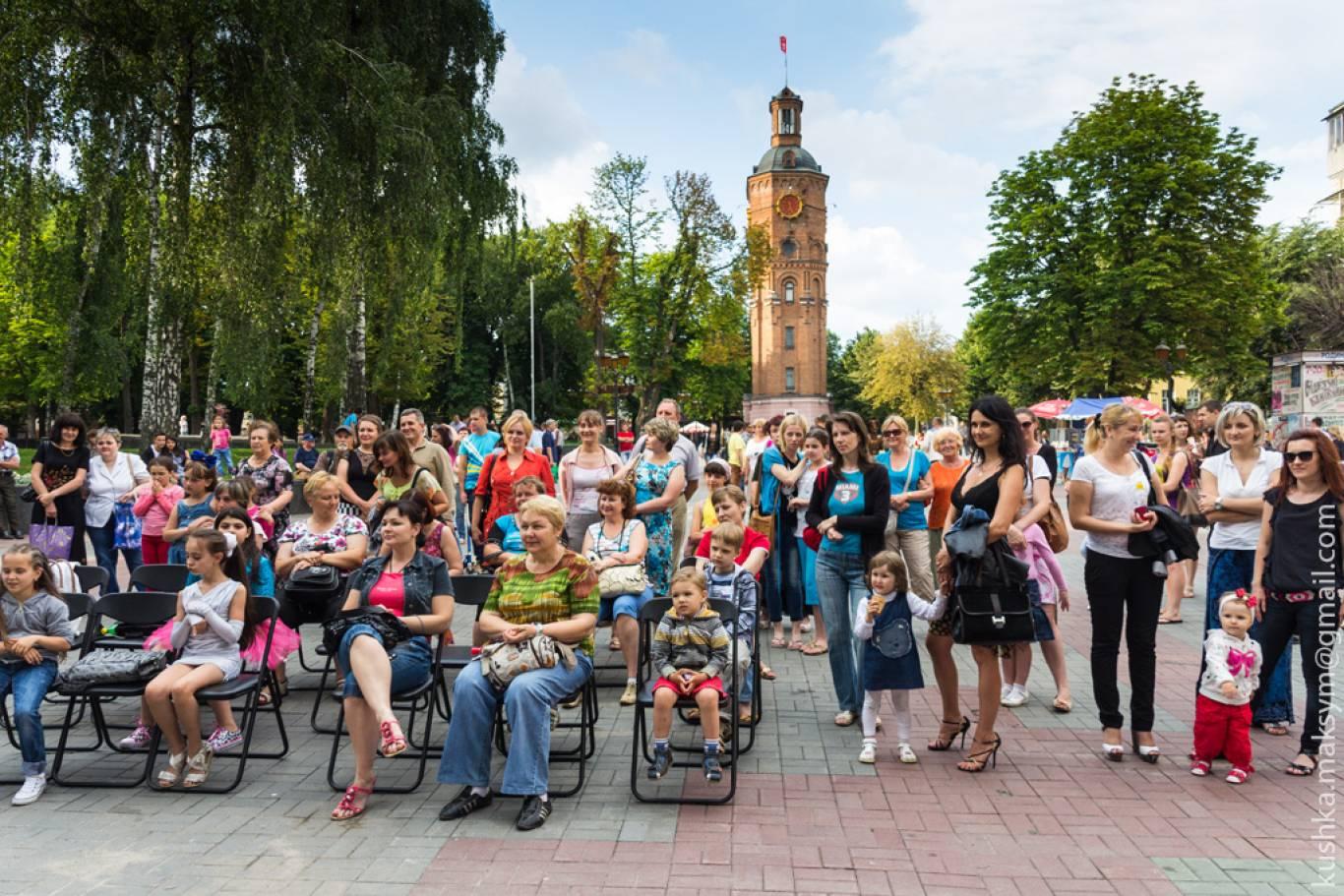 Вінницький кінодворик просто неба з українськими стрічками