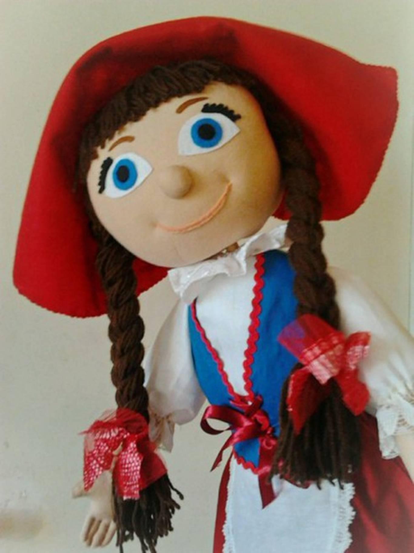 "Лялькова вистава ""Червона шапочка"""