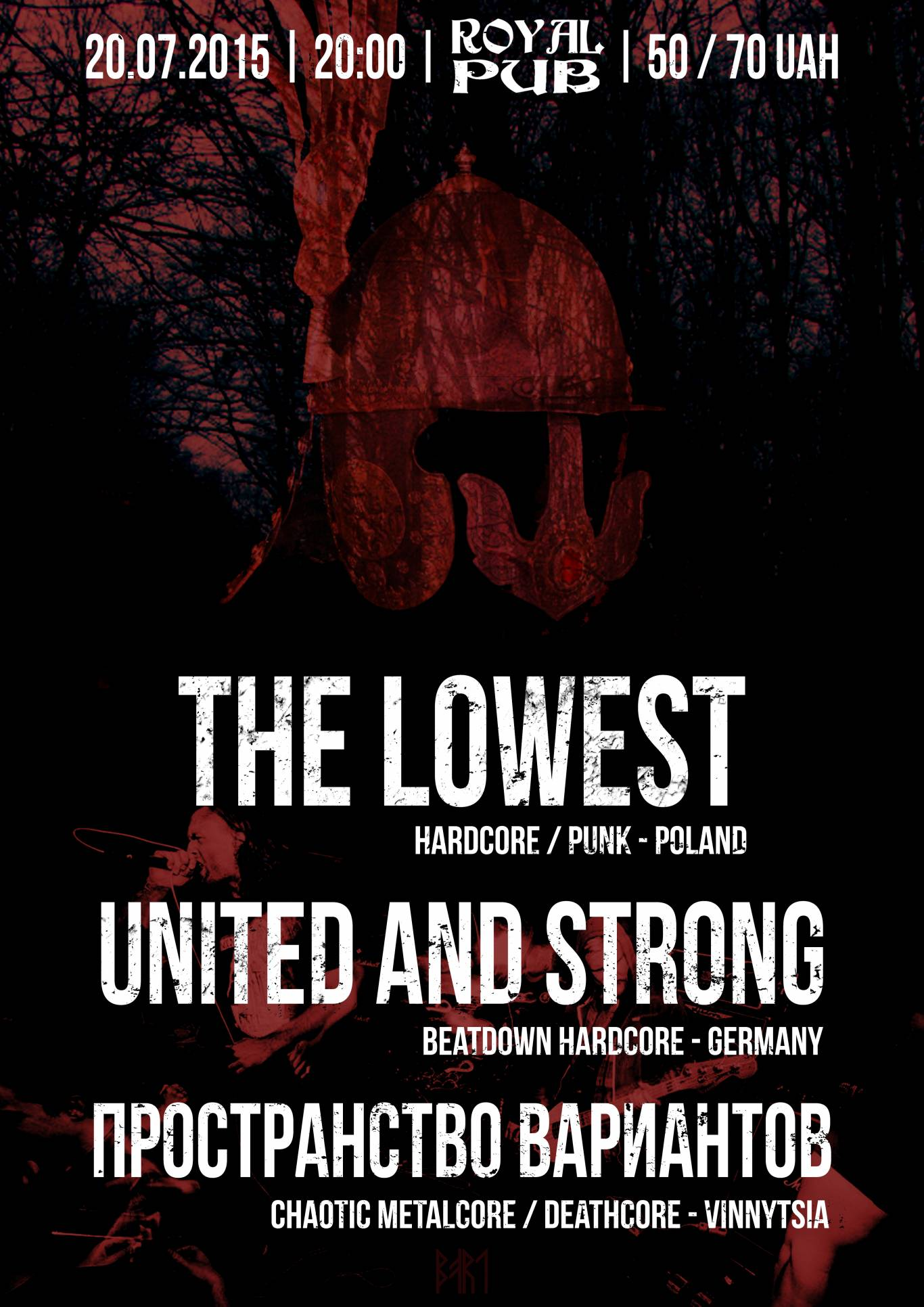 The Lowest (Польша) + United and Strong (Германия) в Виннице