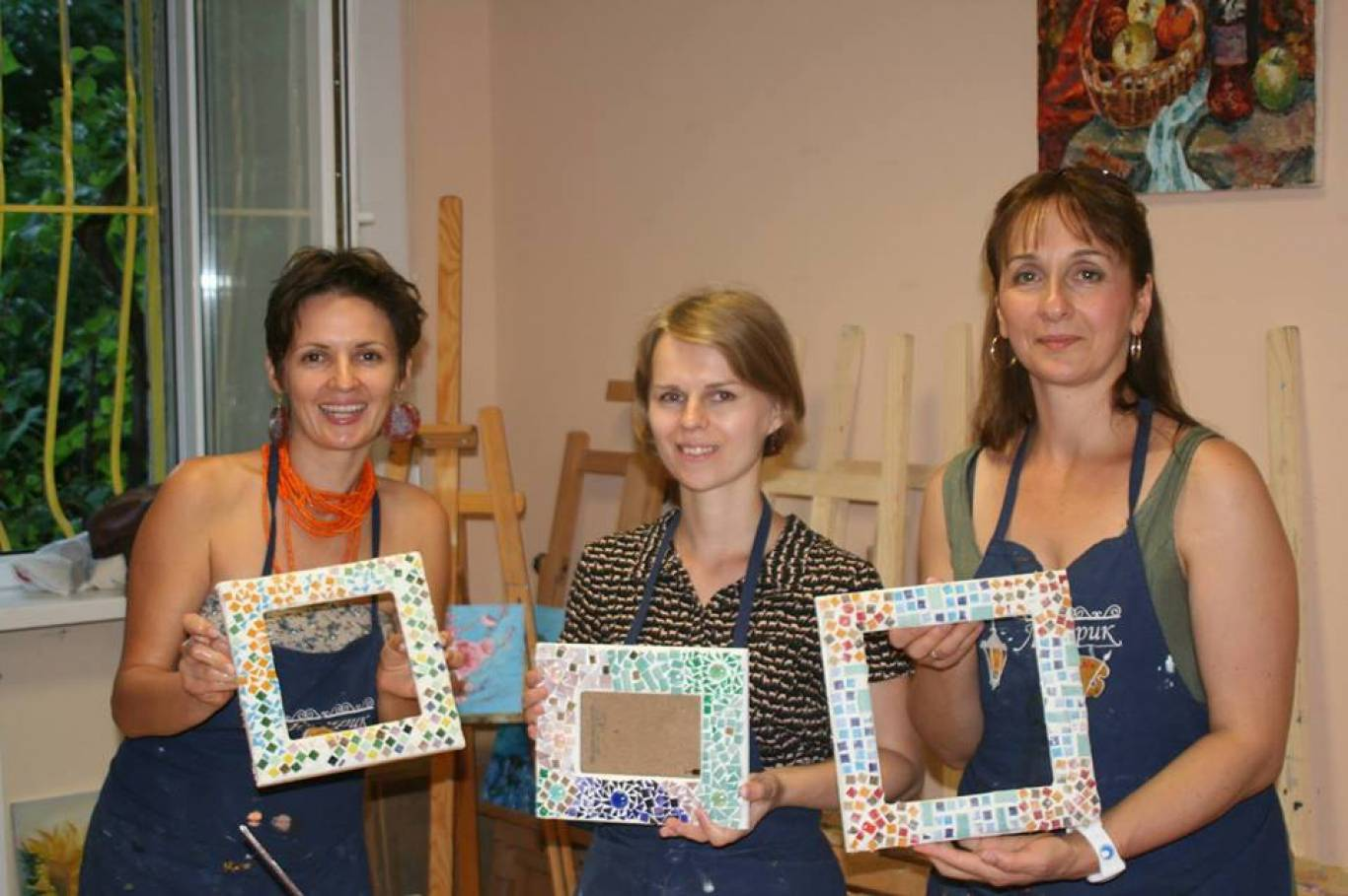 Навчання: Мозаїка у стилі Гауді