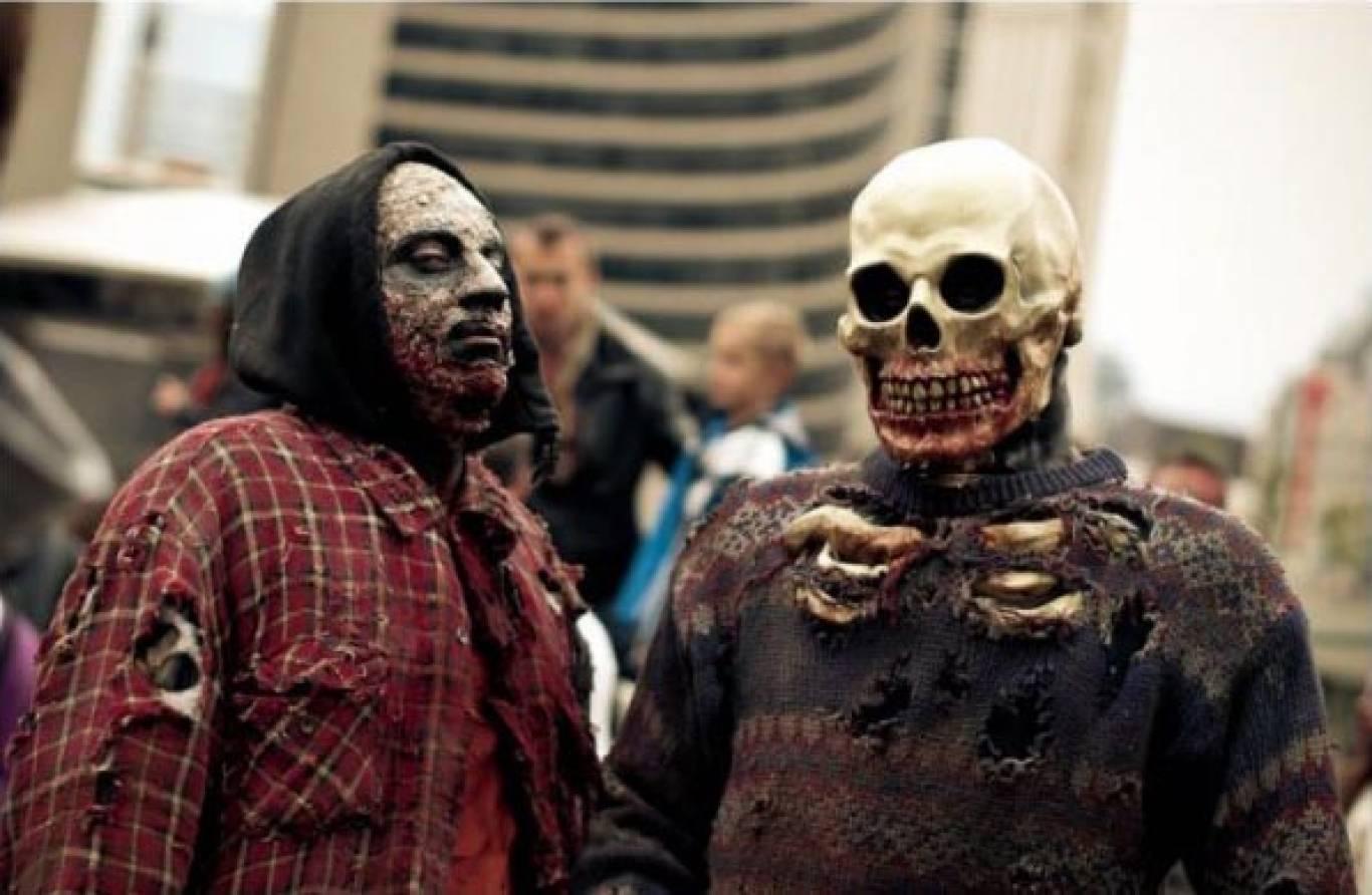 Парад Зомби | Halloween 2017