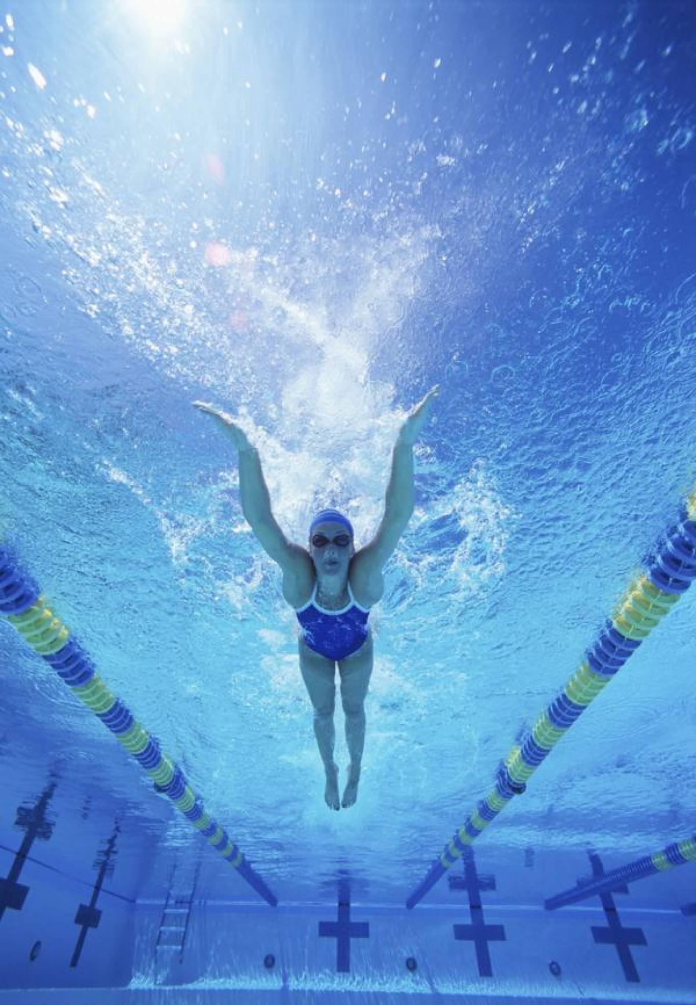Навчання плаванню для дітей у басейні «ТРИТОН»