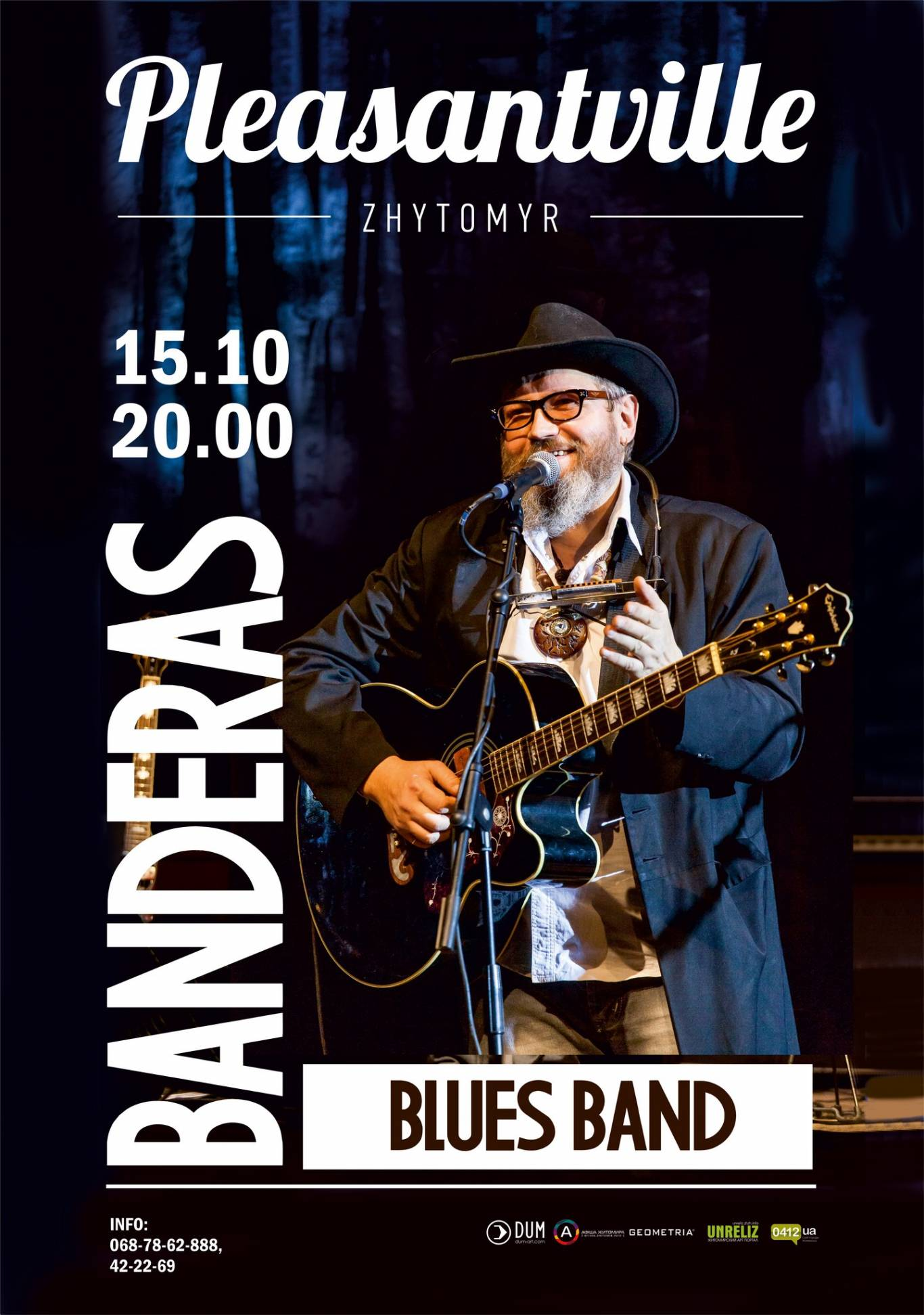 Banderas Blues Band @Pleasantville
