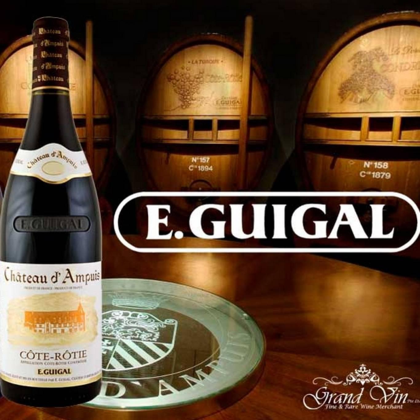Лекція-дегусатція французських вин ТМ E.Guigal