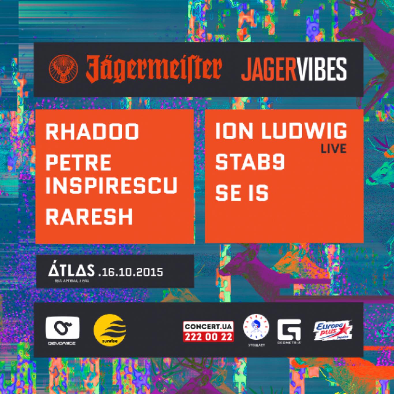 Вечірка JAGER VIBES by Jagermeister в клубі Atlas
