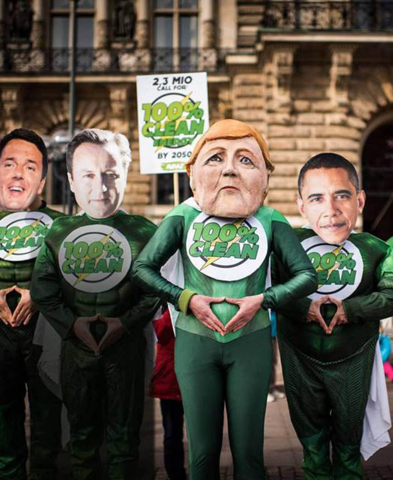 Глобальний кліматичний марш AVAAZ 2015