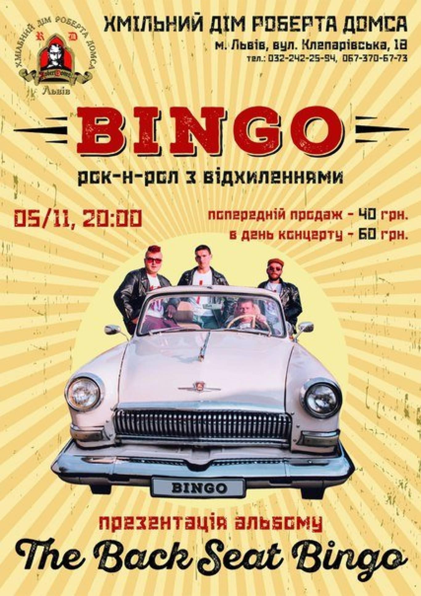 Вечірка з Bingo