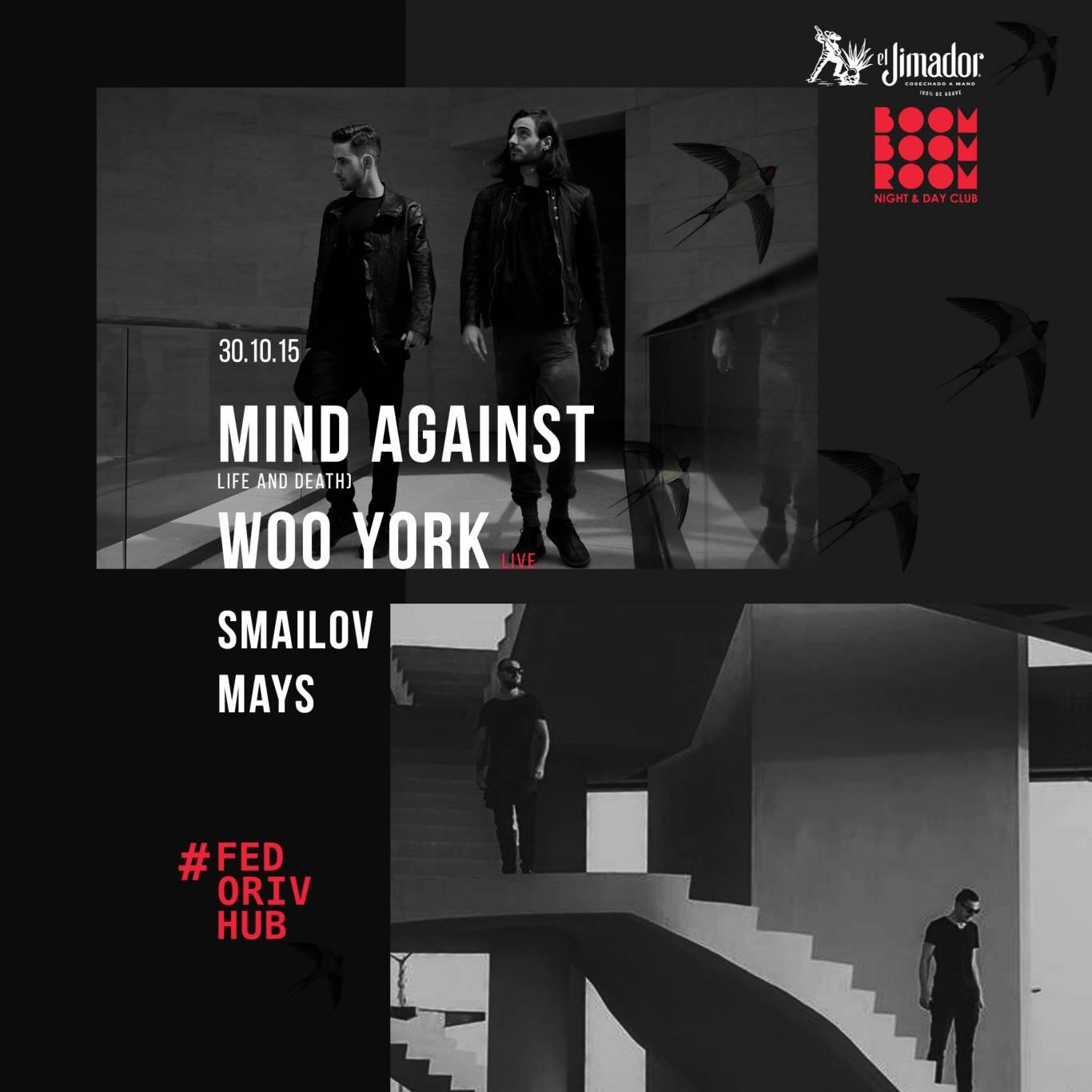Концерт Mind Against в Boom Boom Room в Fedoriv HUB