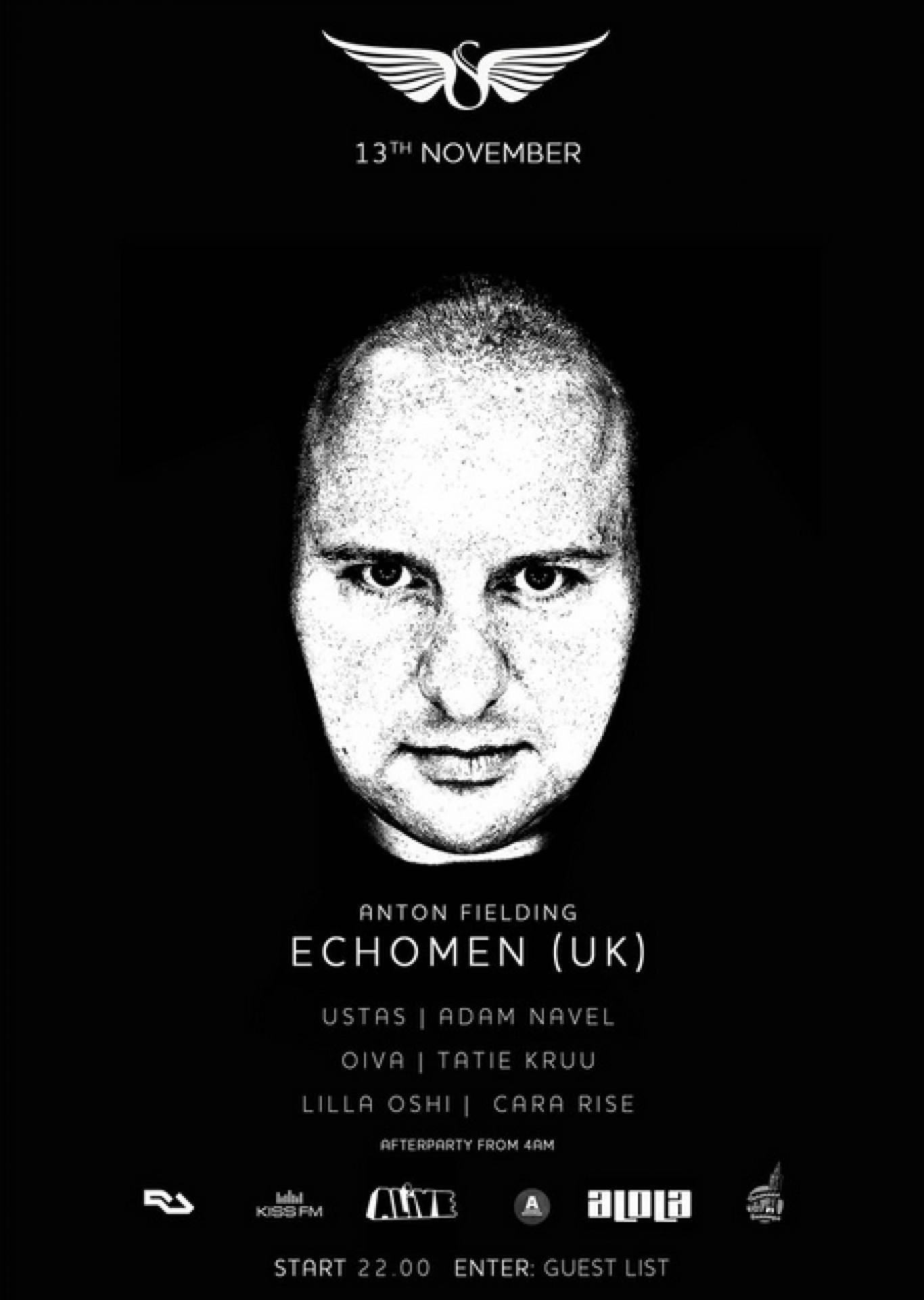 Вечірка з ECHOMEN у Skyroom