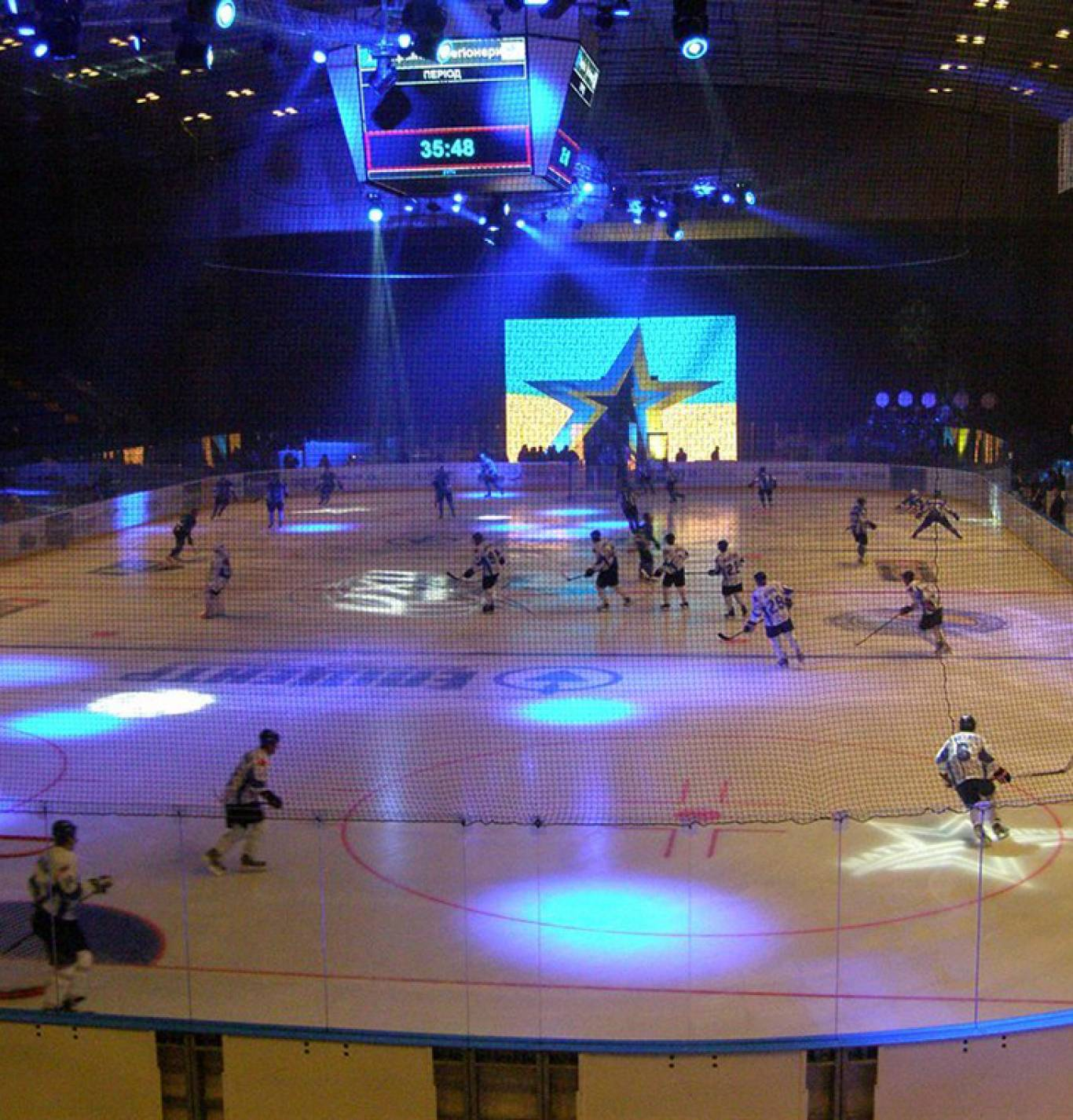 Матч зірок українського хокею на честь 55-річчя Палацу Спорту