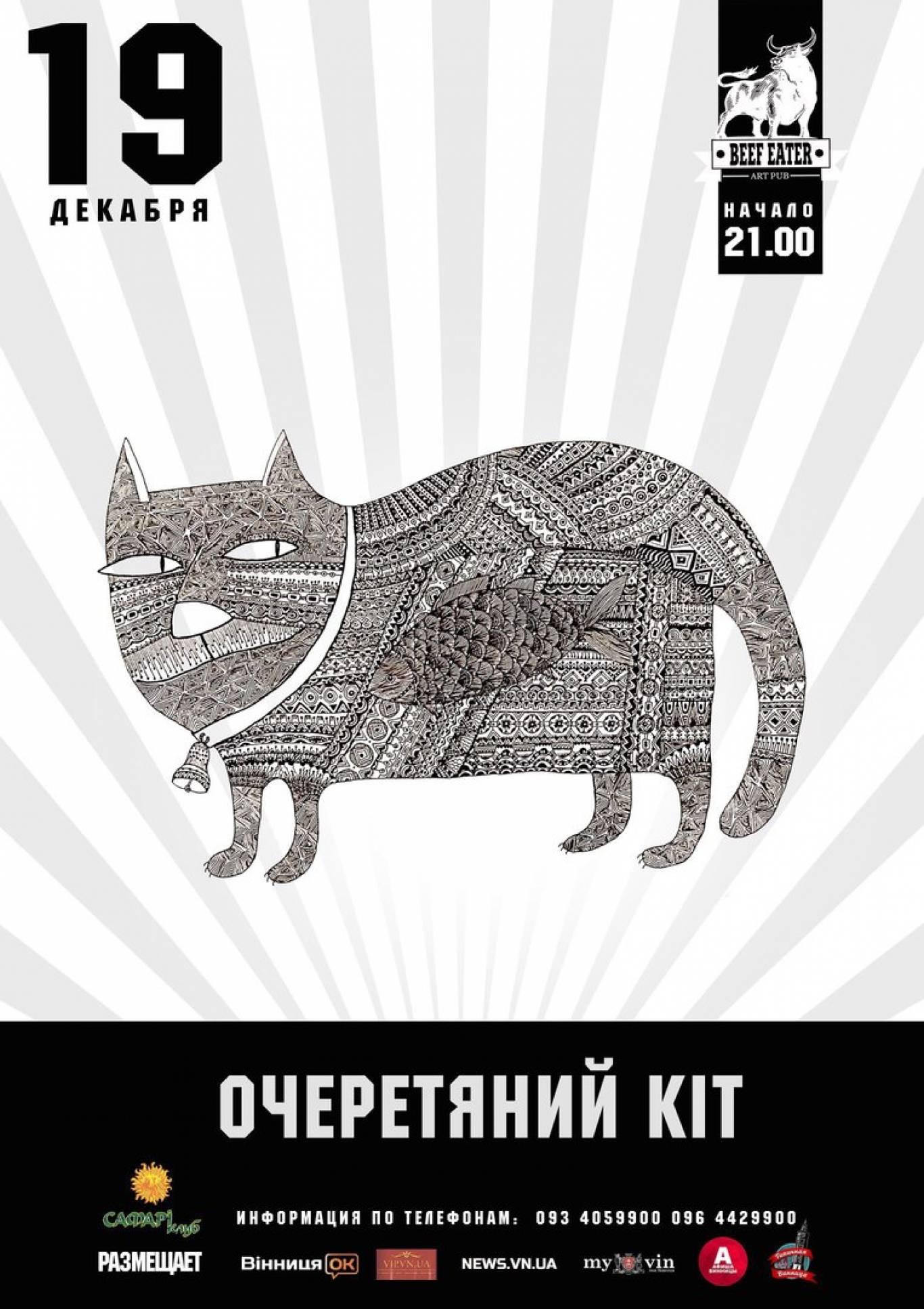 """Концерт гурту """"Очеретяний кіт"""""""