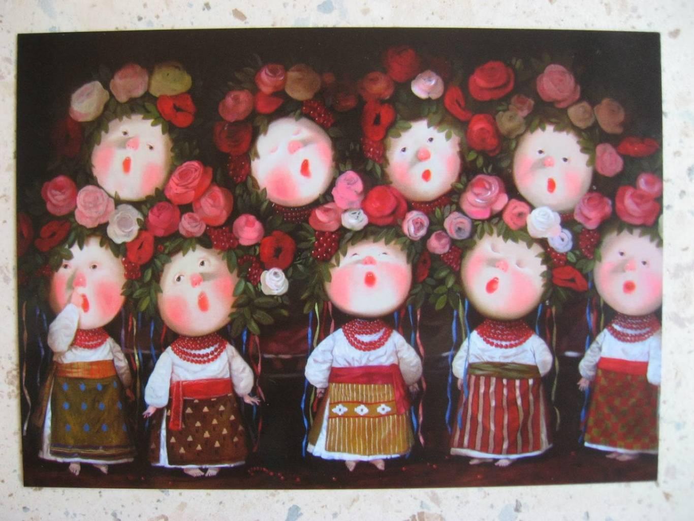 Виставка картин Євгенії Гапчинської у Вінниці