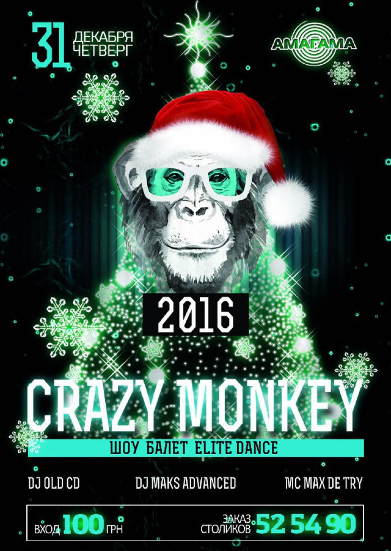 "Вечірка ""Crazy Monkey"" в Амагама"