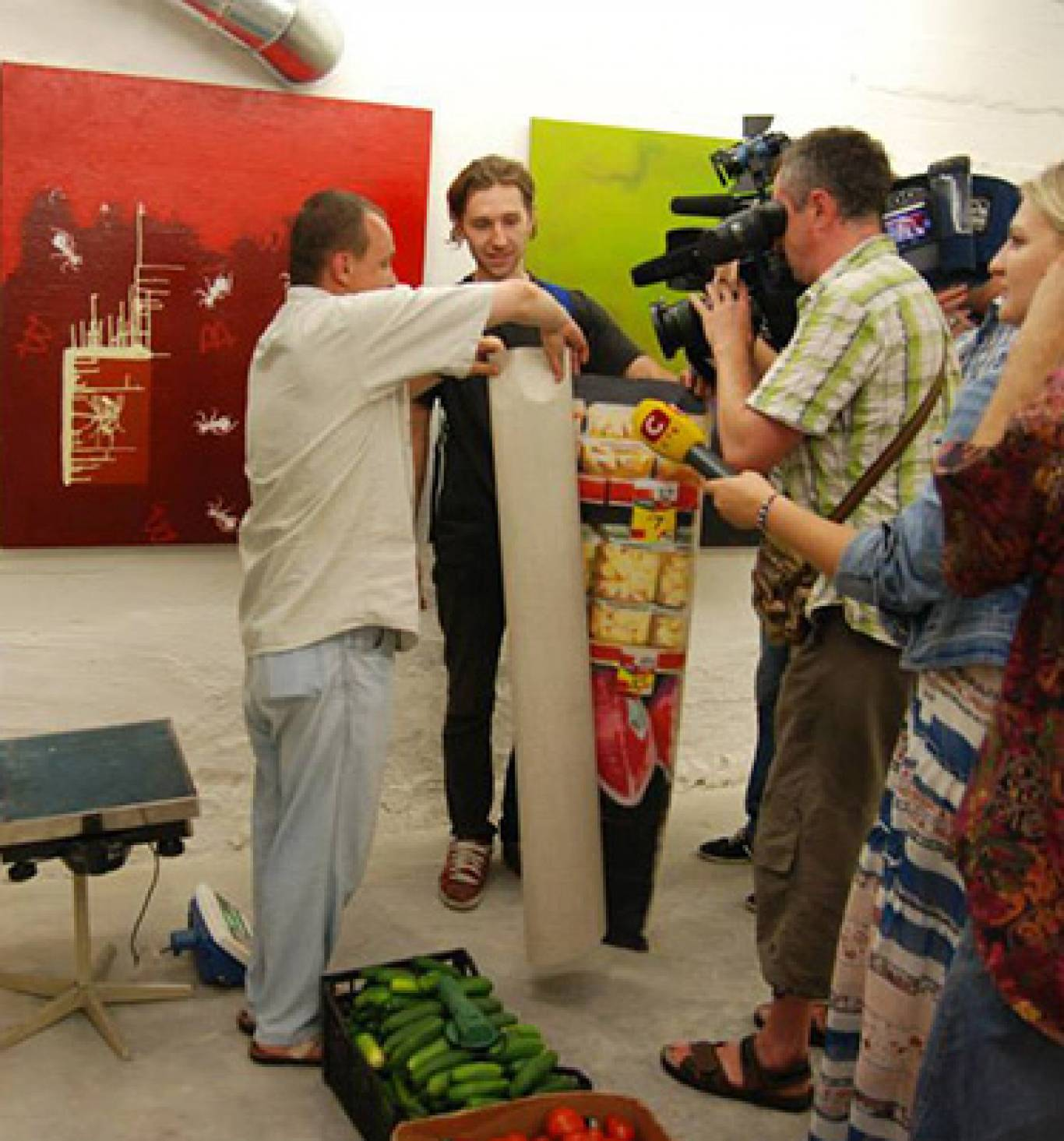 Second hand сучасного мистецтва в 8bit Gallery