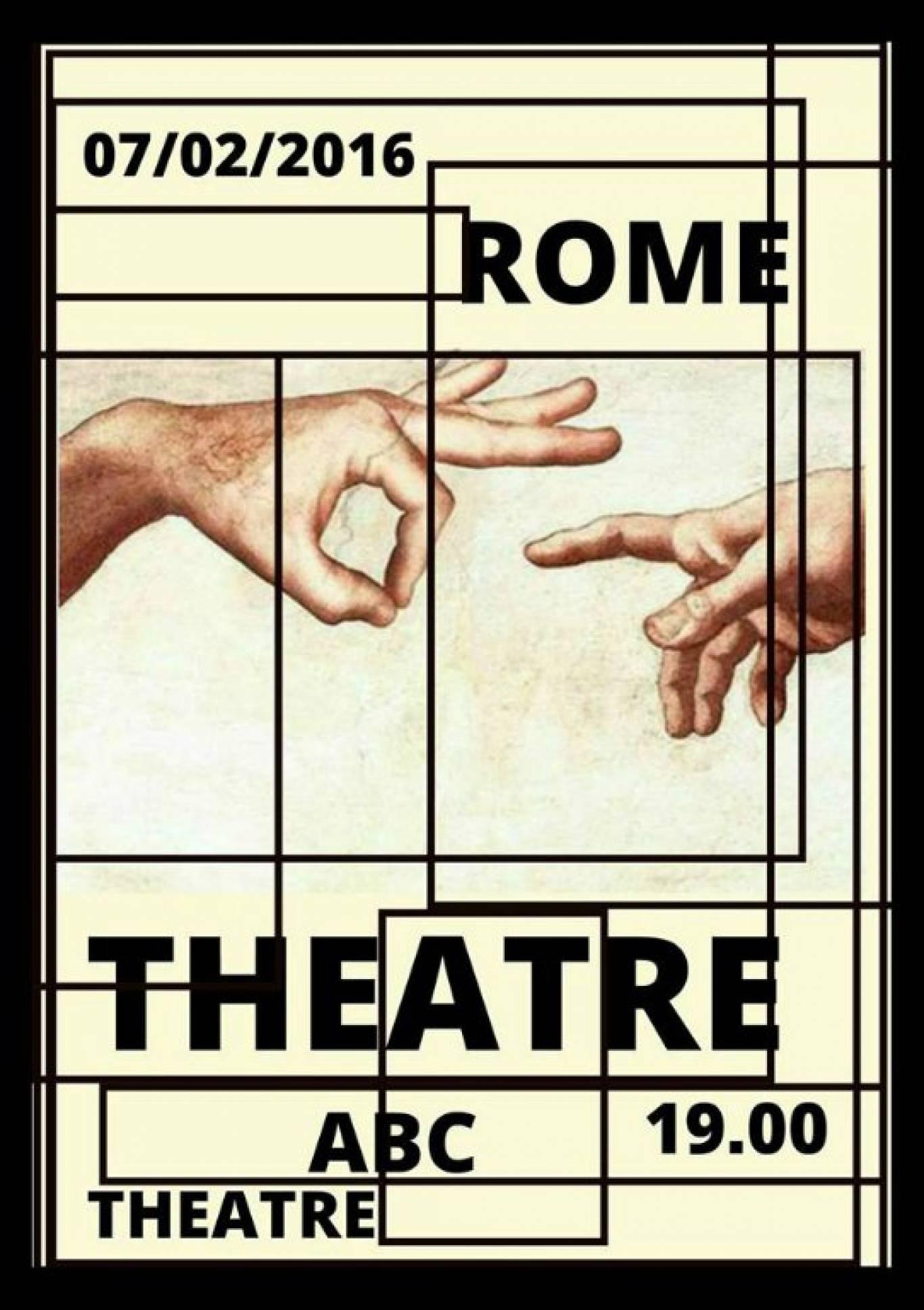Лекція Rome and Theatre