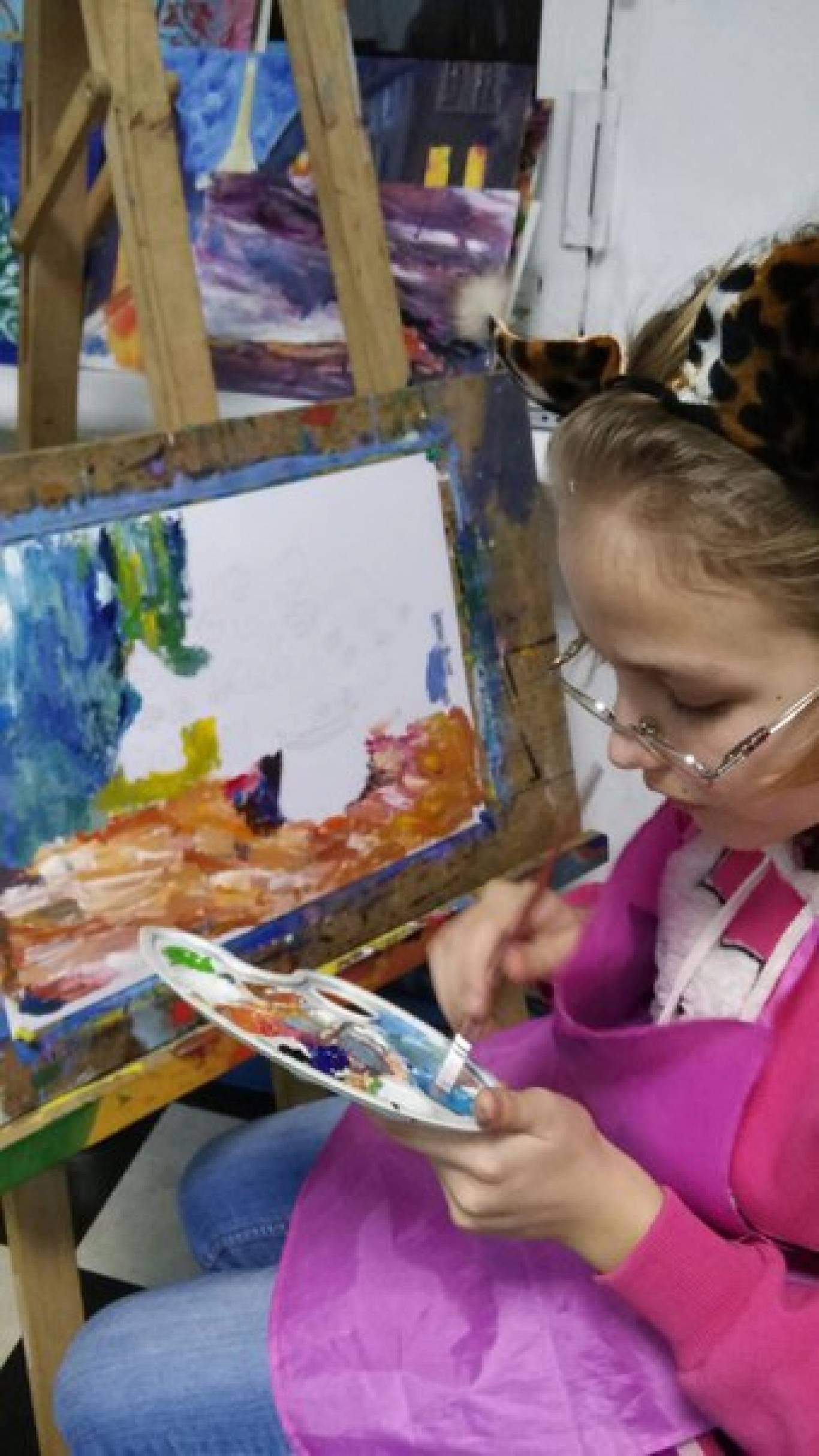 """Навчання живопису в арт-студії """"Карандаш"""""""