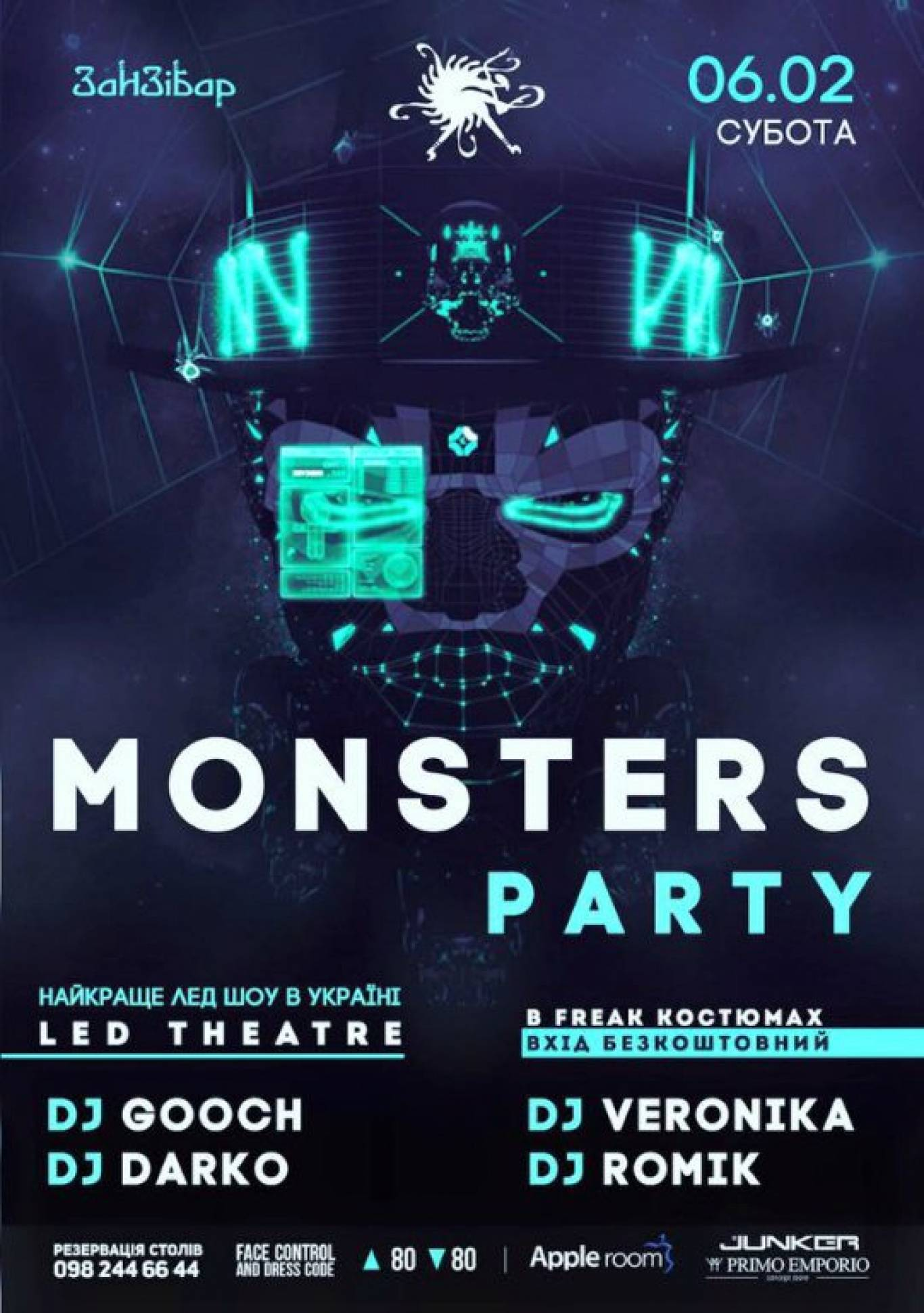 Вечірка Monsters party