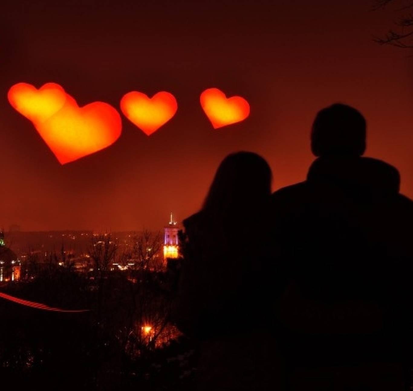 День Святого Валентина во Львове
