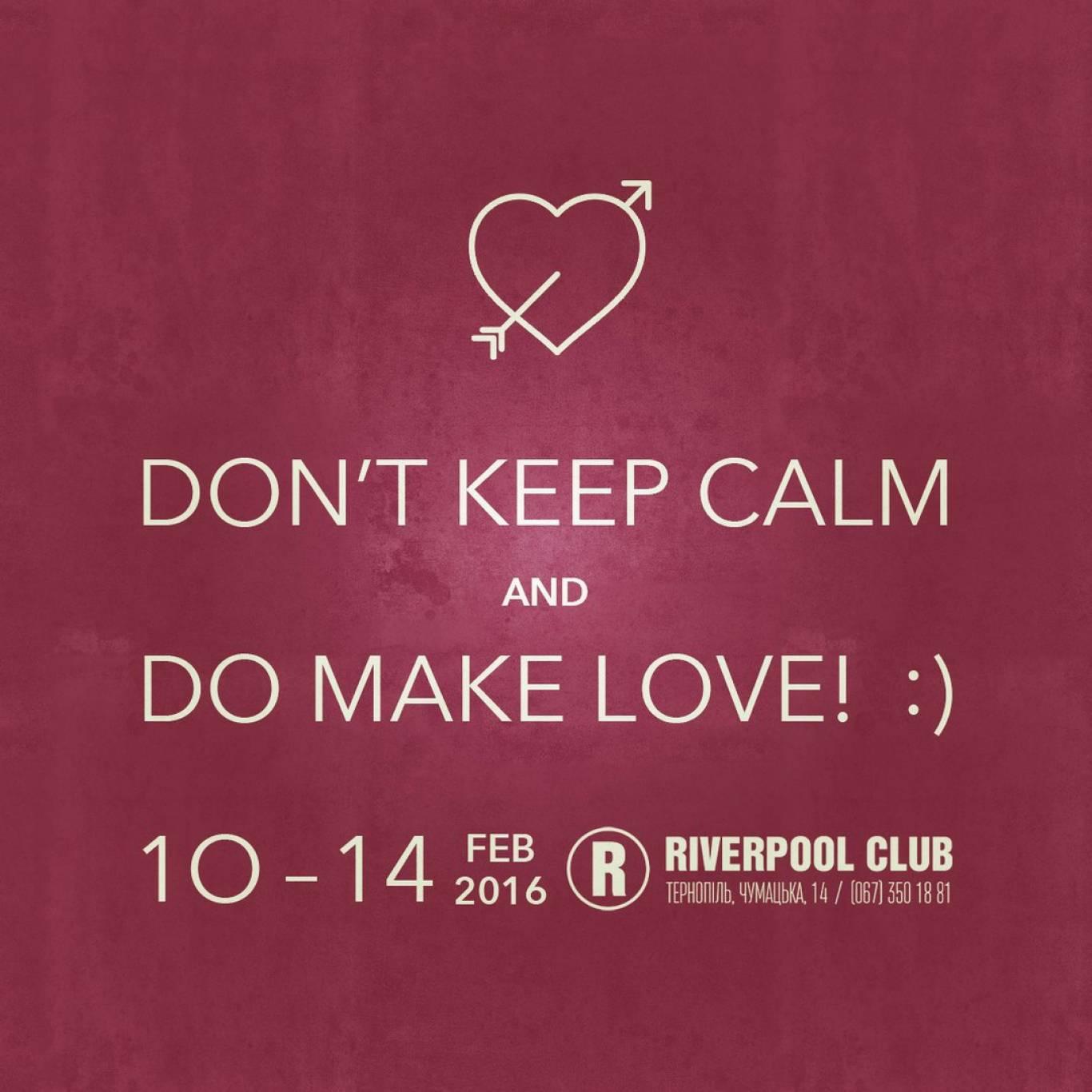 Вечірки до Дня святого Валентина у Riverpool