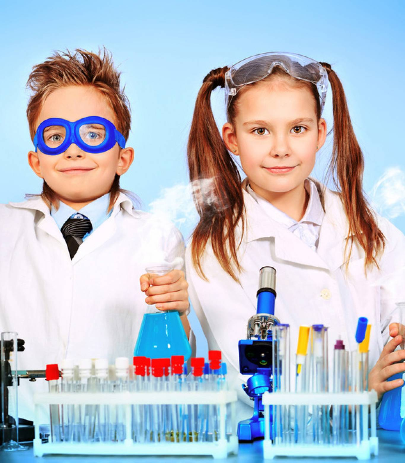 """Хімічний гурток для дітей в """"Експериментаніумі"""""""