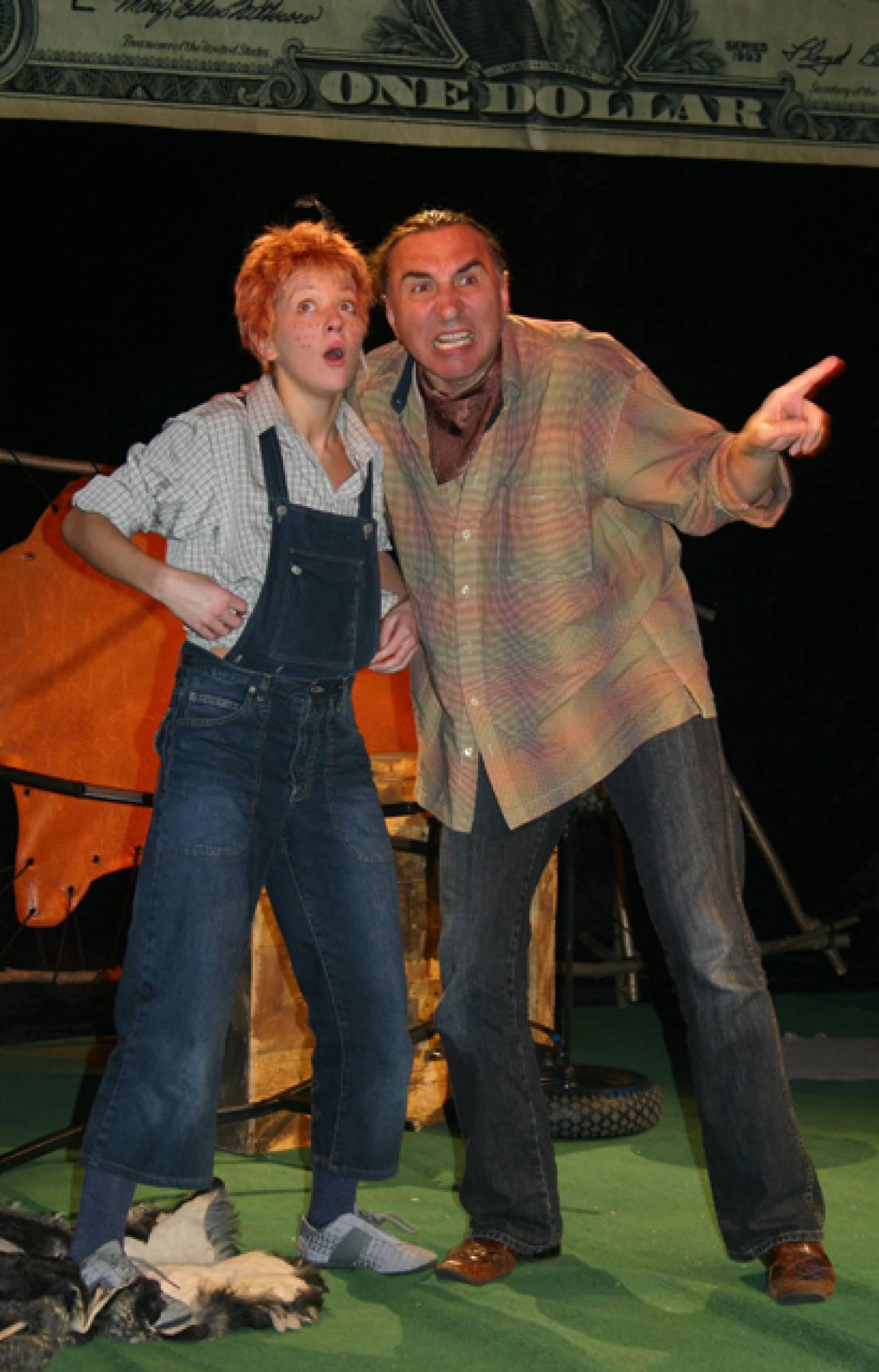 """Дитяча вистава """"Вождь червоношкірих"""" в Театрі юного глядача"""