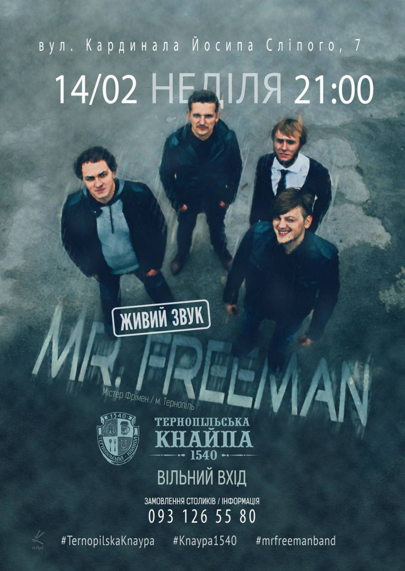 Концерт Mr Freeman