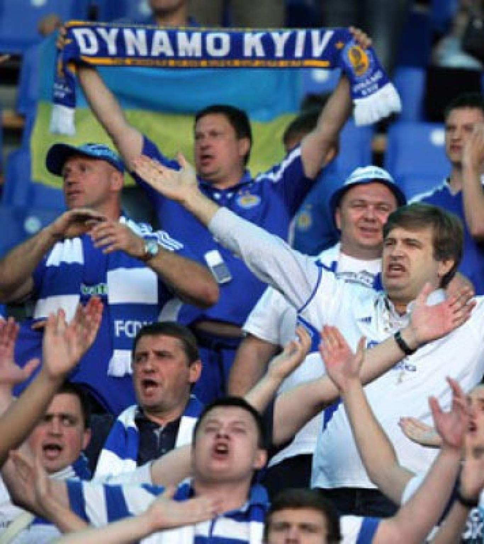 Футбол: матч Динамо (Київ) - Манчестер Сіті