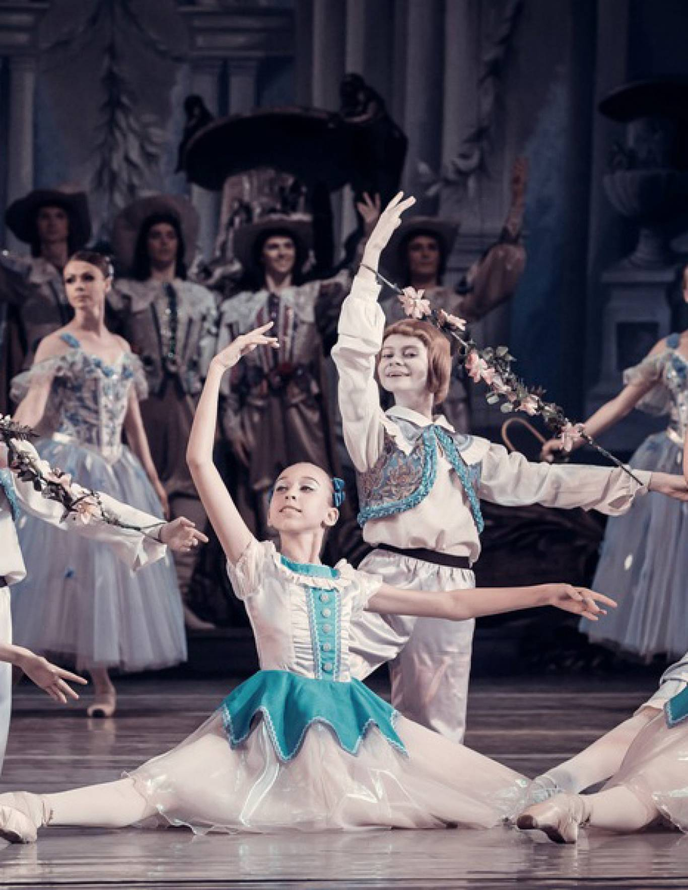 Концерт учнів і студентів Київського державного хореографічного училища в Національній опері України