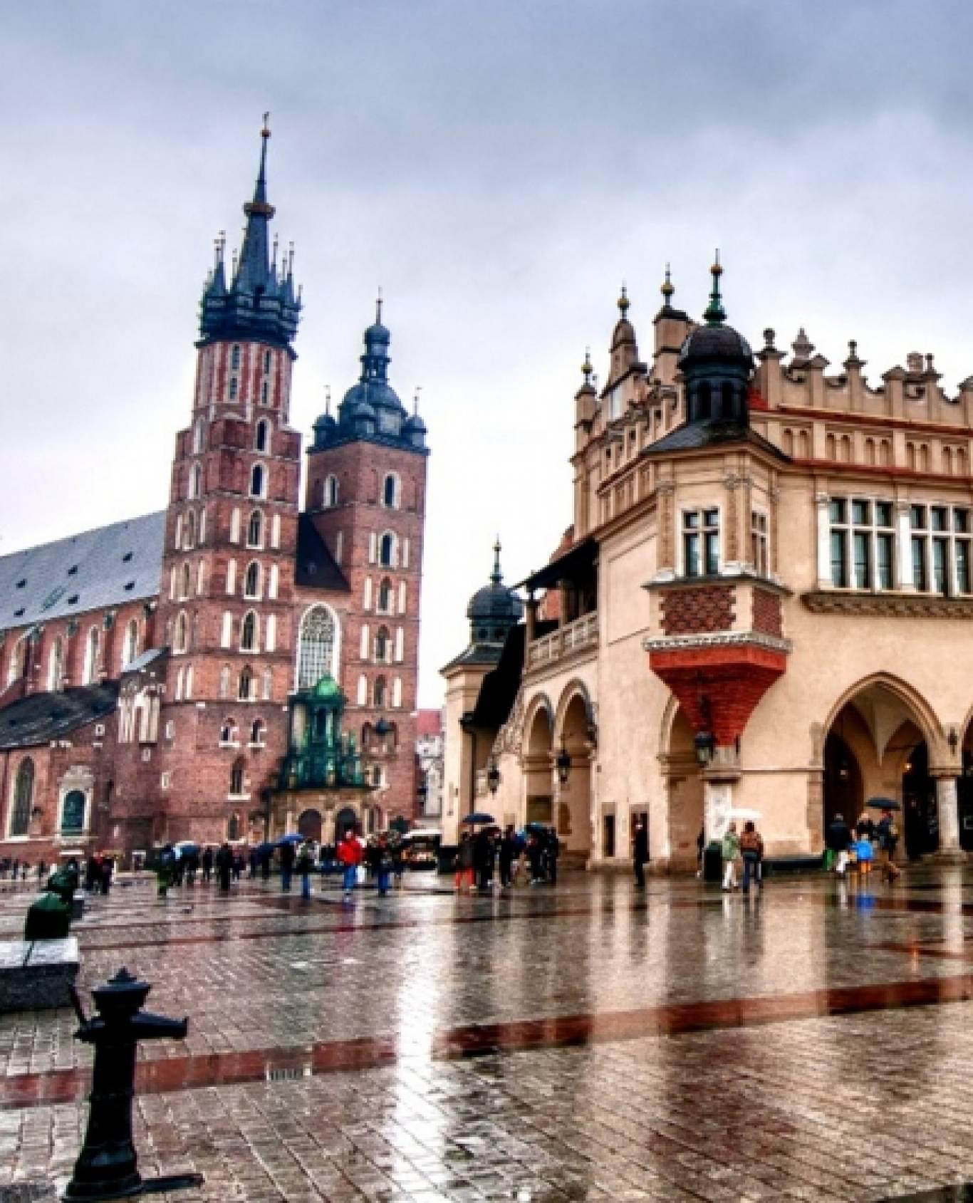 Подорож до  Кракова, Братислави, Віденя, Будапешта