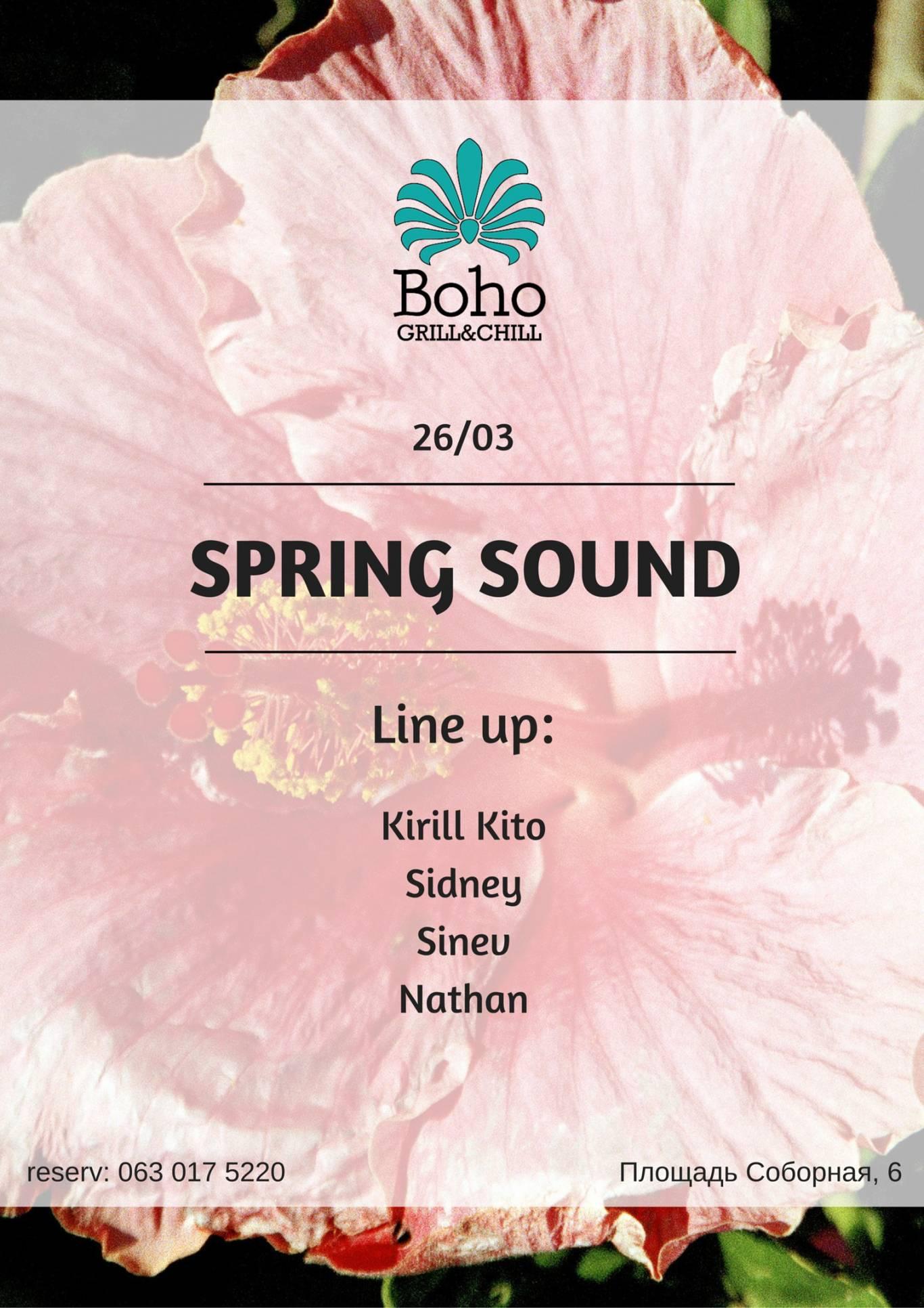 Вечірка Spring Sound