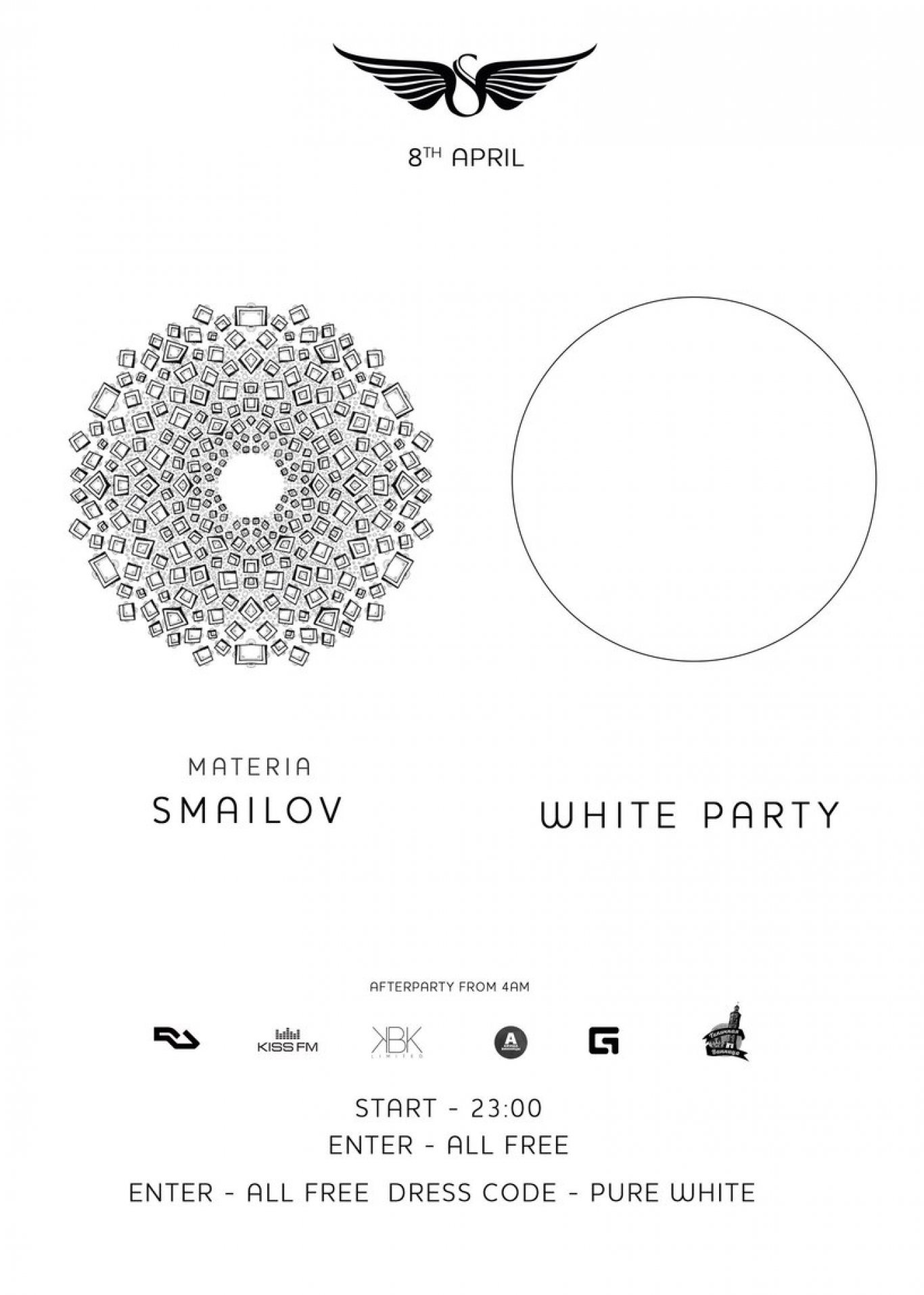 "Дискотека у Skyroom ""Dress code Pure White"""