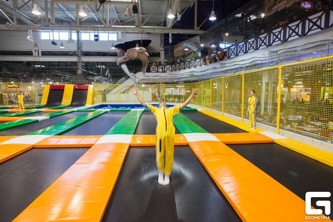 Відкриття батутного комплексу «Глобал JUMPING»