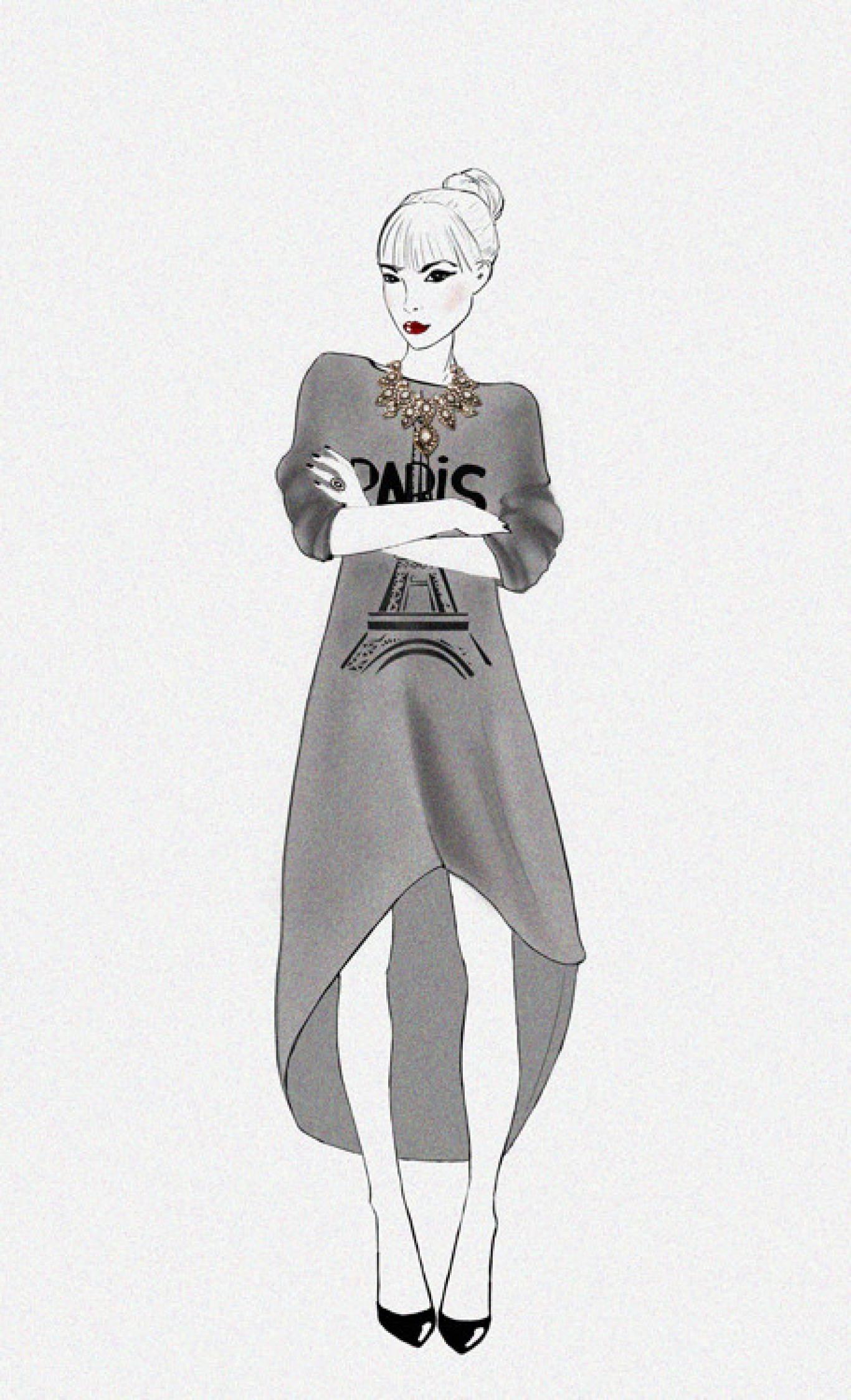 """Майстер-клас  """"Fashion Illustration"""" від арт-студії Lucky Book Room"""