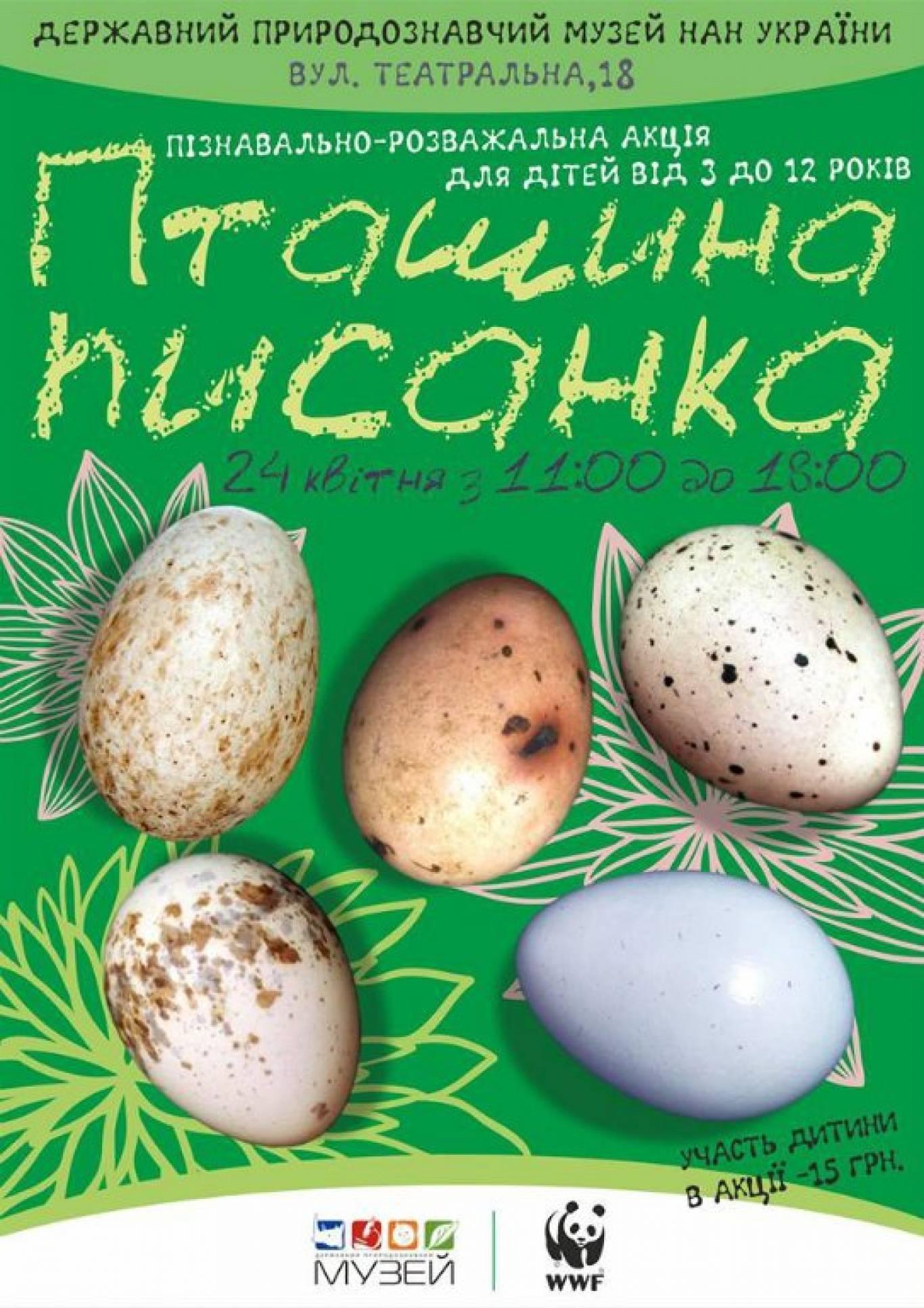 """Акція """"Пташина писанка-2016"""""""