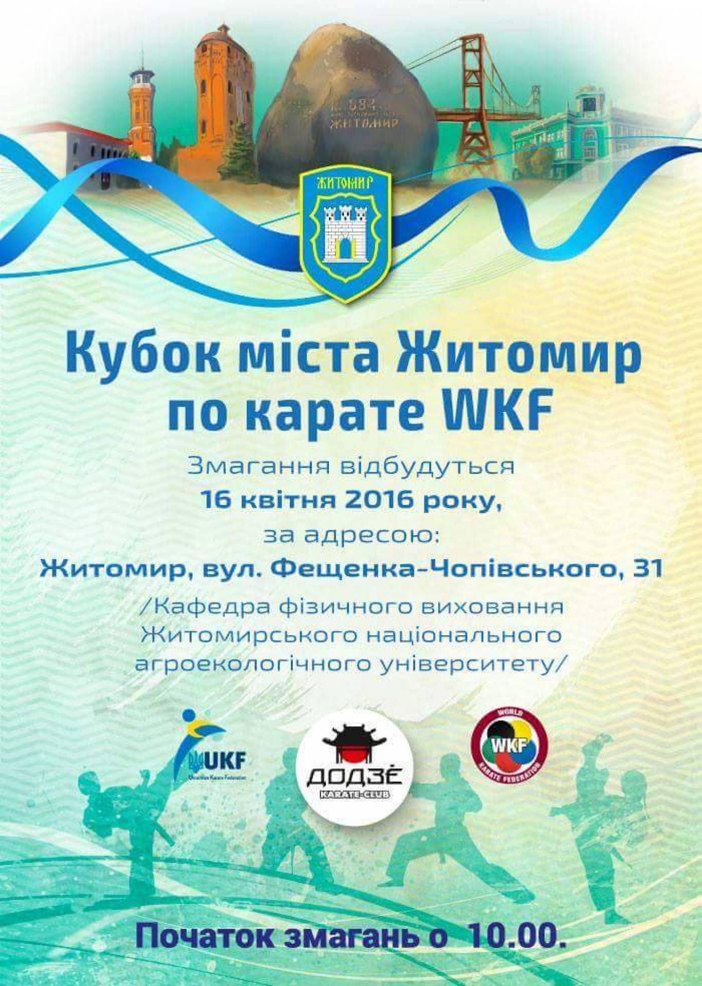 Кубок міста  Житомир по карате WKF