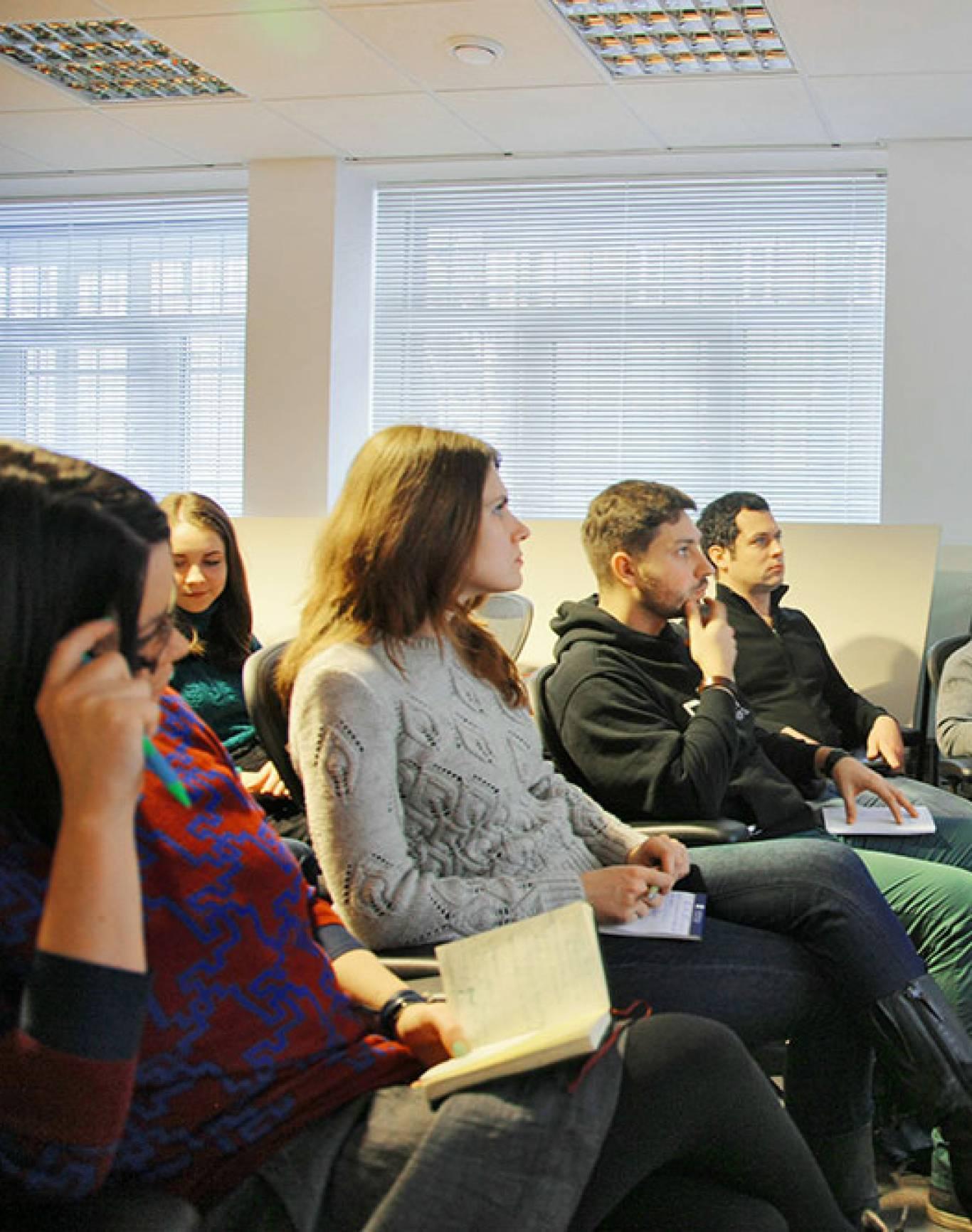 Презентація Програми ім. Губерта Гамфрі в Американському Домі в Києві