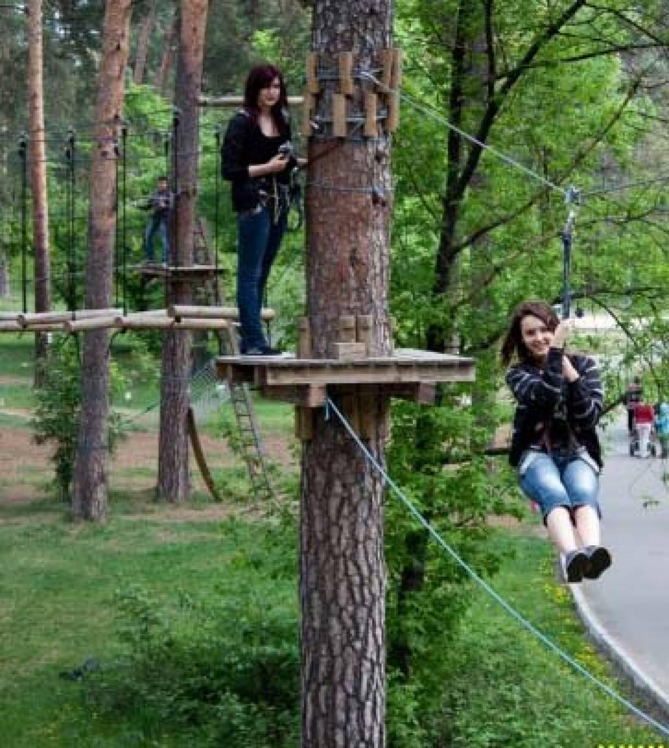 Дозвілля для дітей у Мотузковому парку Seiklar