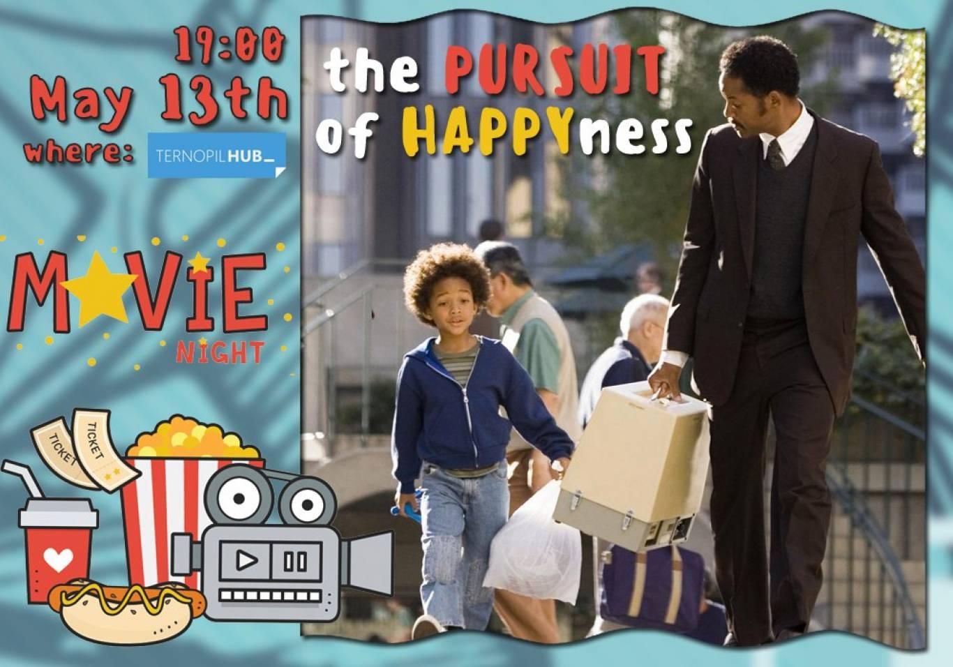 Показ фільму англійською мовою The Pursuit of Happiness
