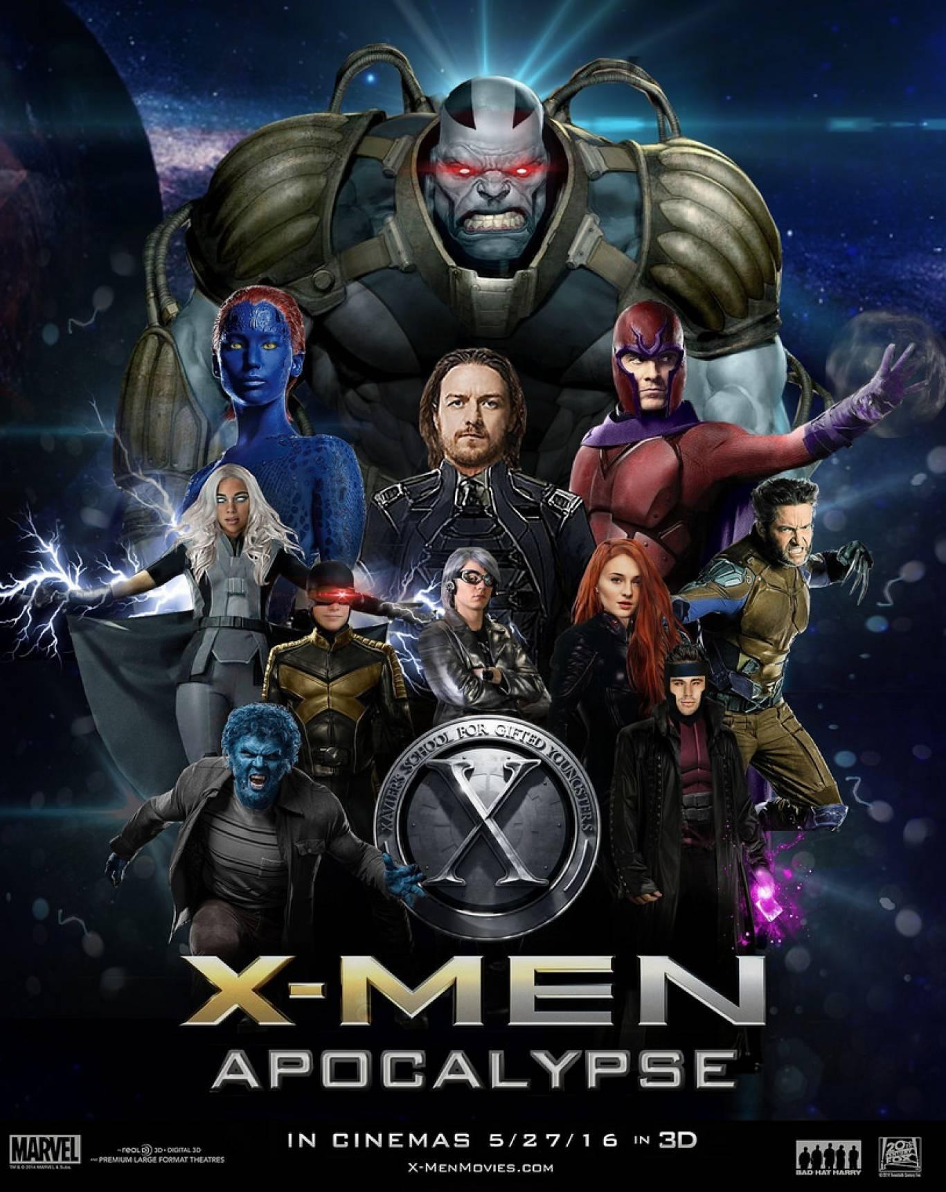 "Фантастика ""Люди Ікс: Апокаліпсис"""